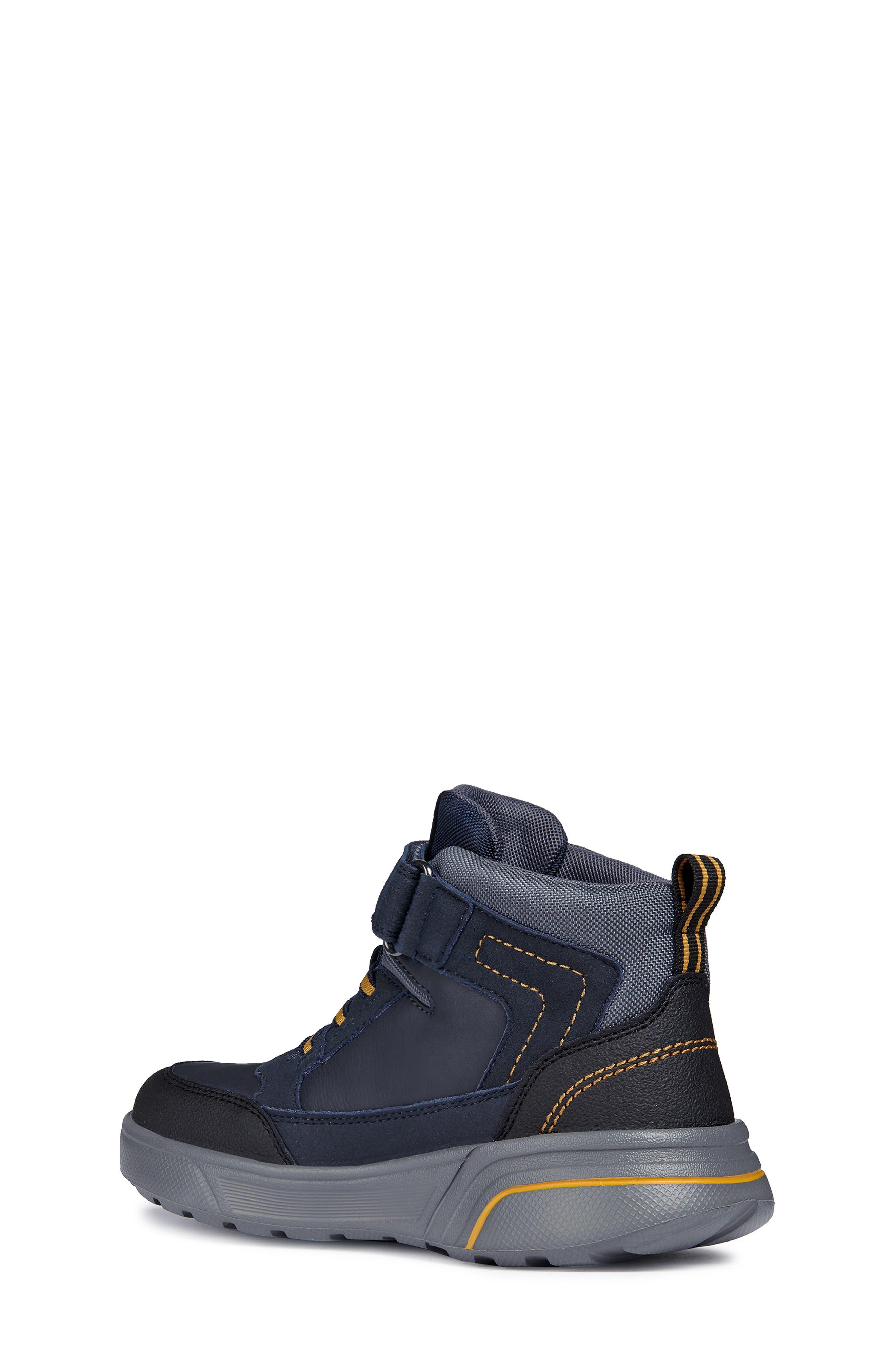 Sveggen ABX Waterproof Sneaker,                             Alternate thumbnail 2, color,                             NAVY/YELLOW