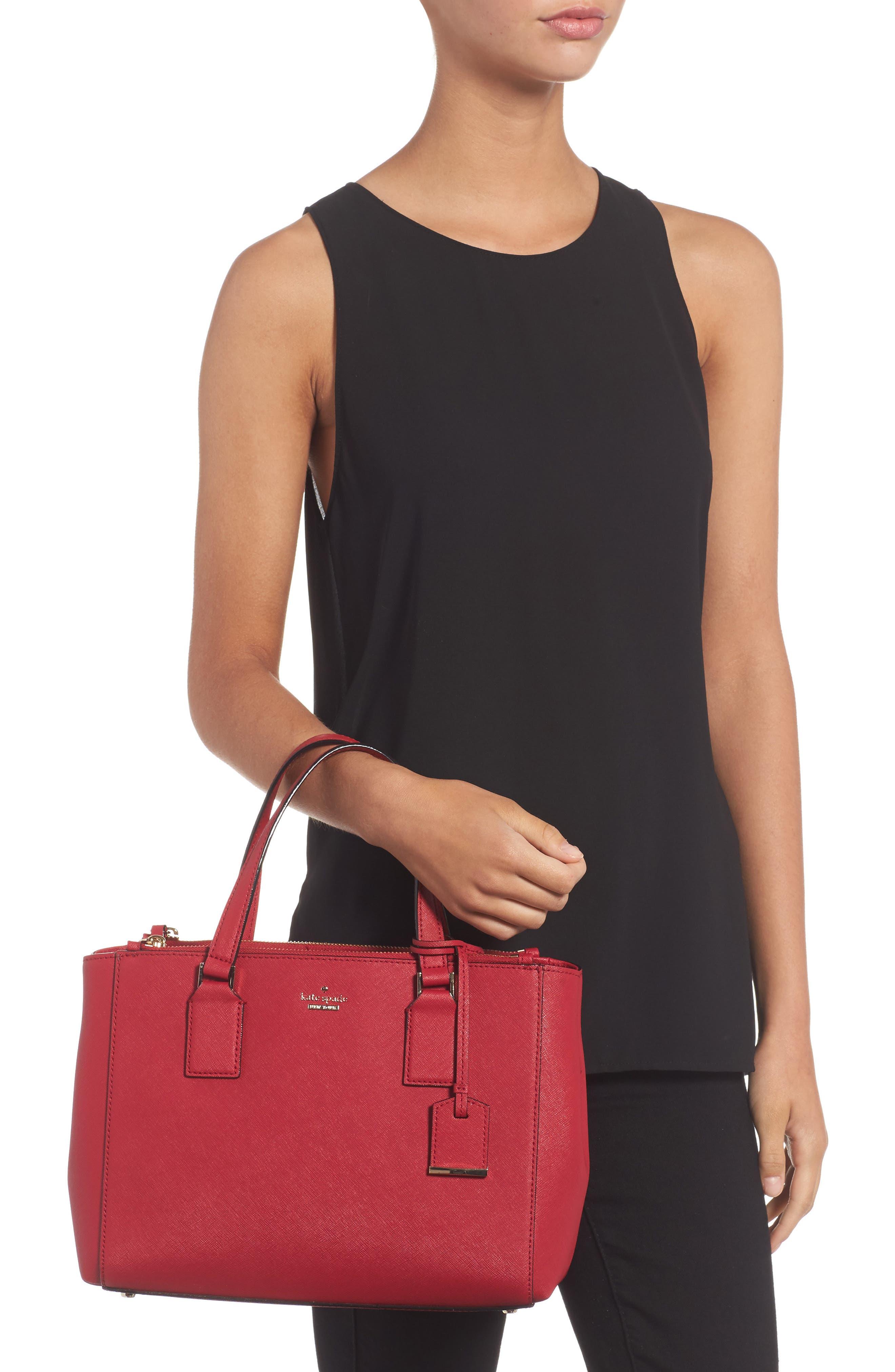 cameron street - teegan calfskin leather satchel,                             Alternate thumbnail 2, color,                             638