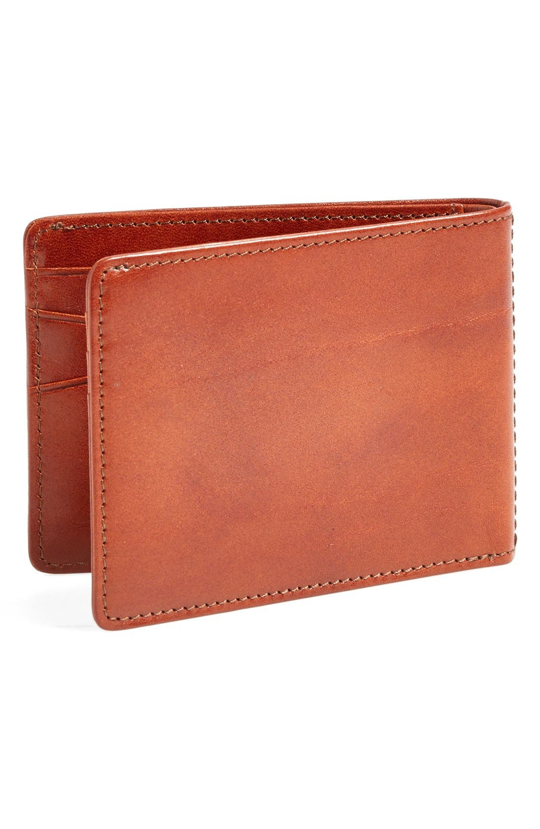 Small Bifold Wallet,                             Alternate thumbnail 3, color,                             AMBER