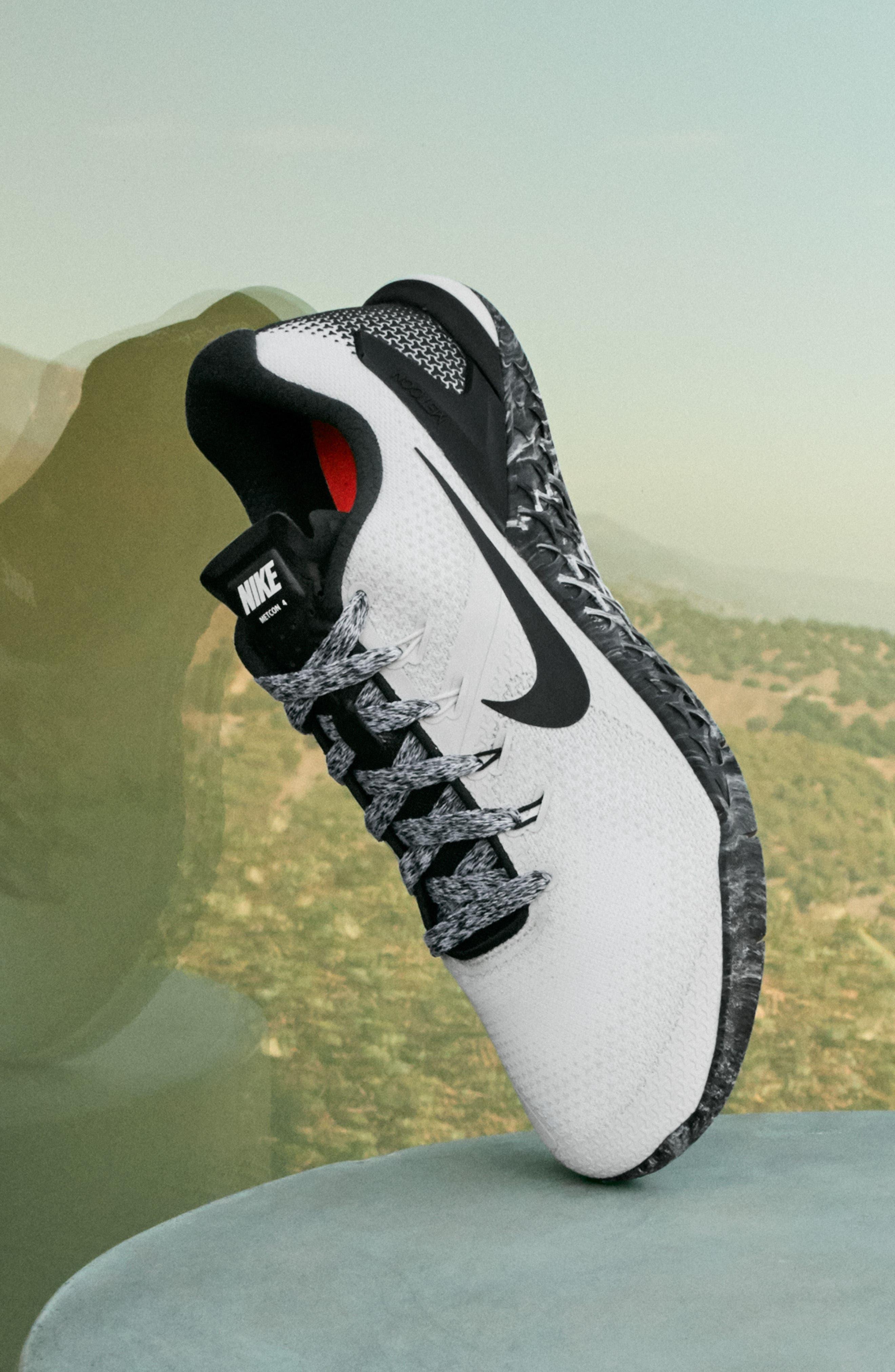 Metcon 4 Training Shoe,                             Alternate thumbnail 7, color,                             GAME ROYAL/ WHITE/ BLACK