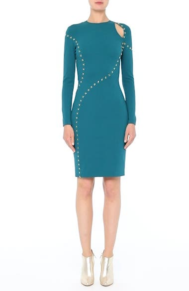 Collection Studded Cutout Dress, video thumbnail
