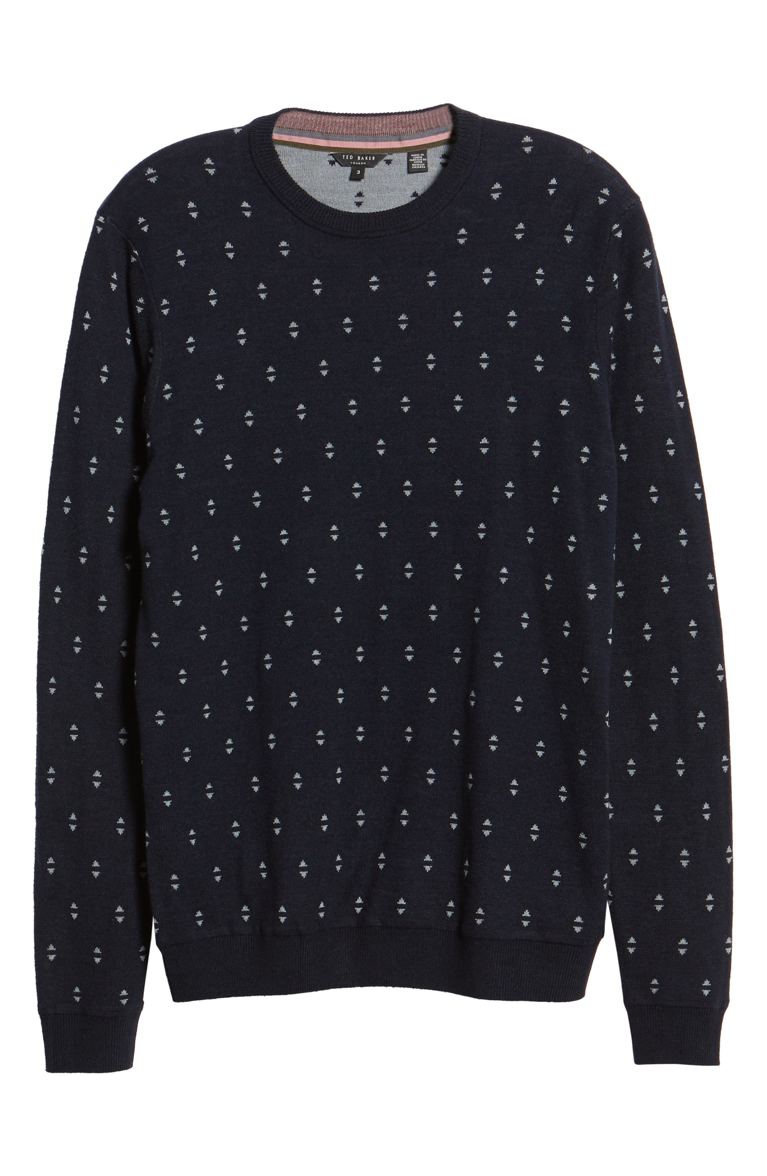Talkoo Trim Fit Crewneck Sweater,                             Alternate thumbnail 6, color,                             410