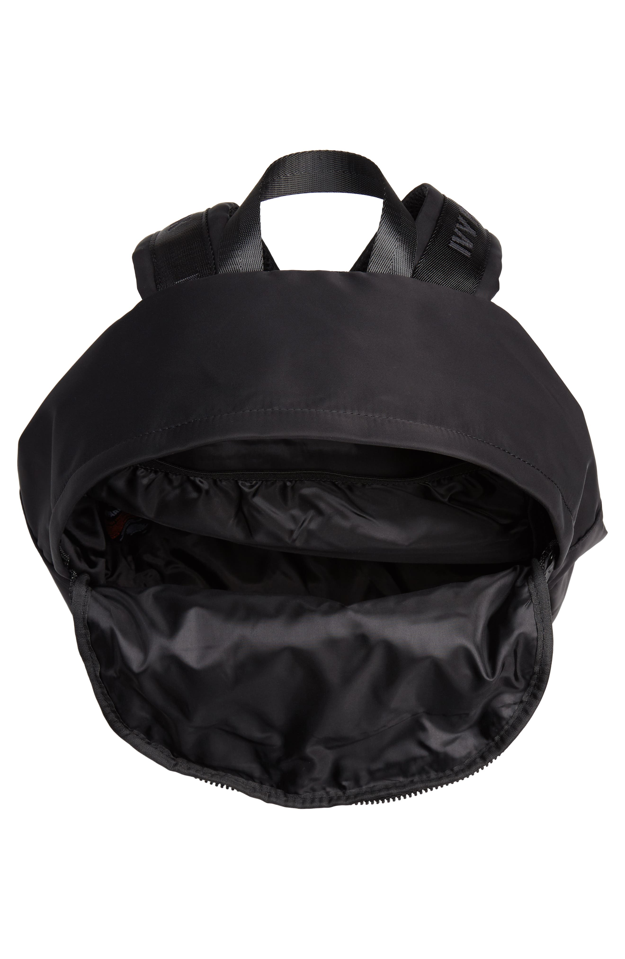 IVY PARK<SUP>®</SUP>,                             Ivy Park Layered Logo Backpack,                             Alternate thumbnail 4, color,                             001