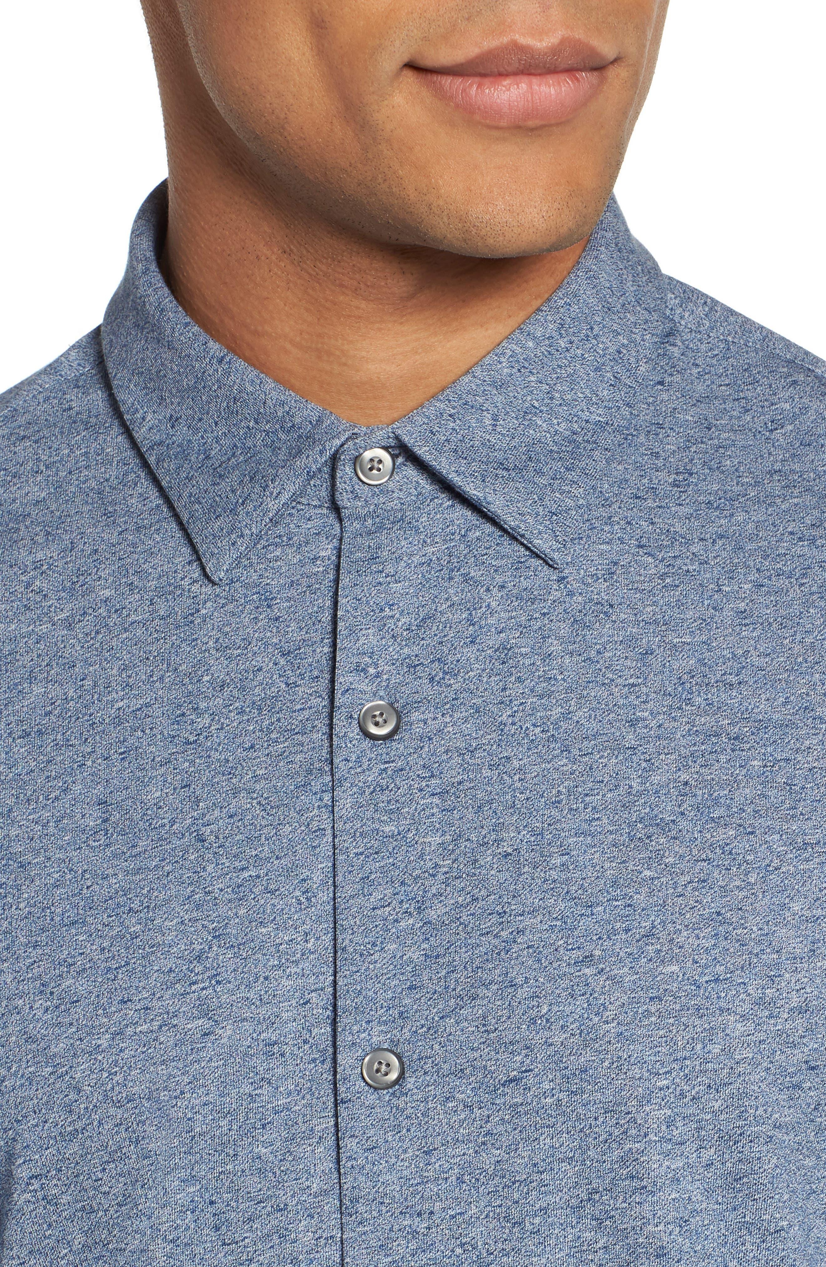 Knit Sport Shirt,                             Alternate thumbnail 8, color,