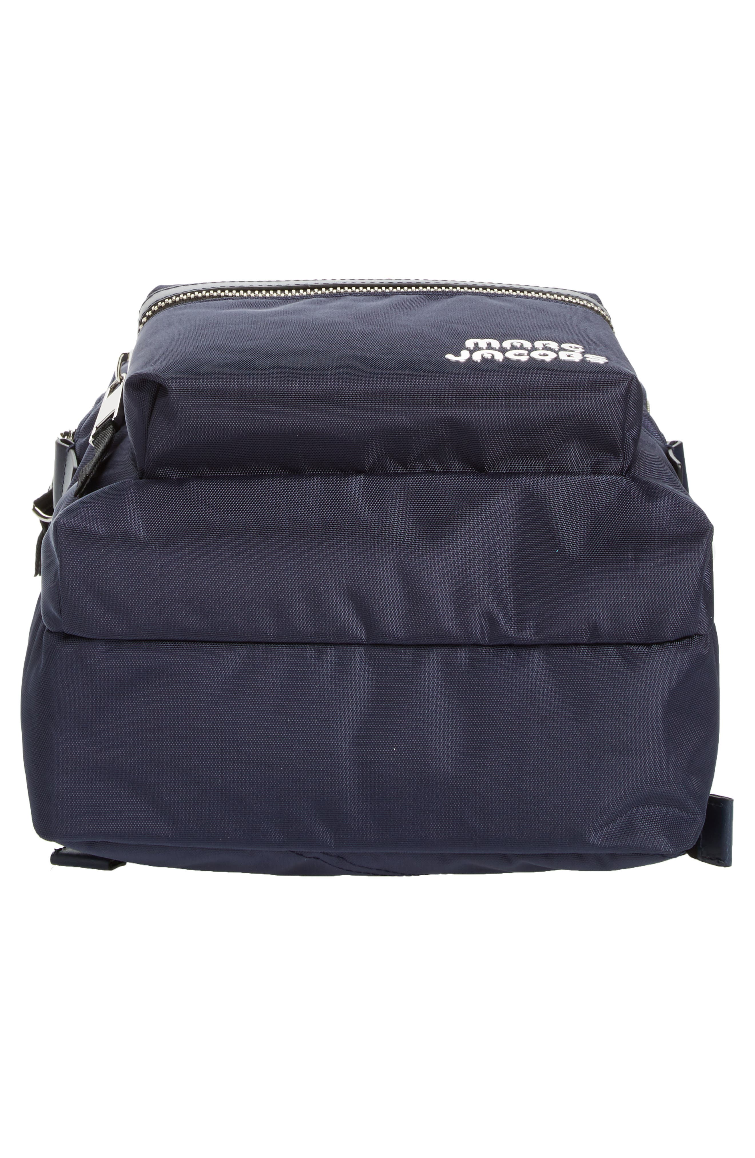 Medium Trek Nylon Backpack,                             Alternate thumbnail 6, color,                             MIDNIGHT BLUE