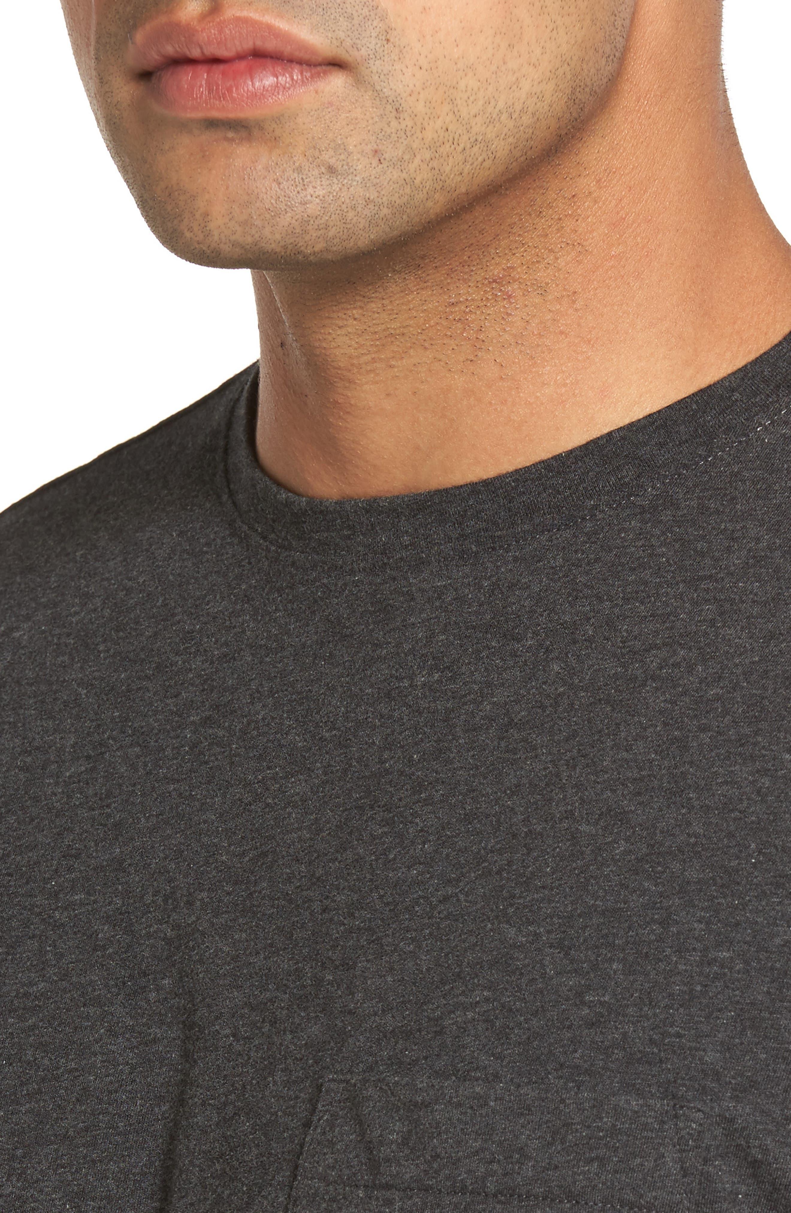 Crown Pocket T-Shirt,                             Alternate thumbnail 4, color,                             020
