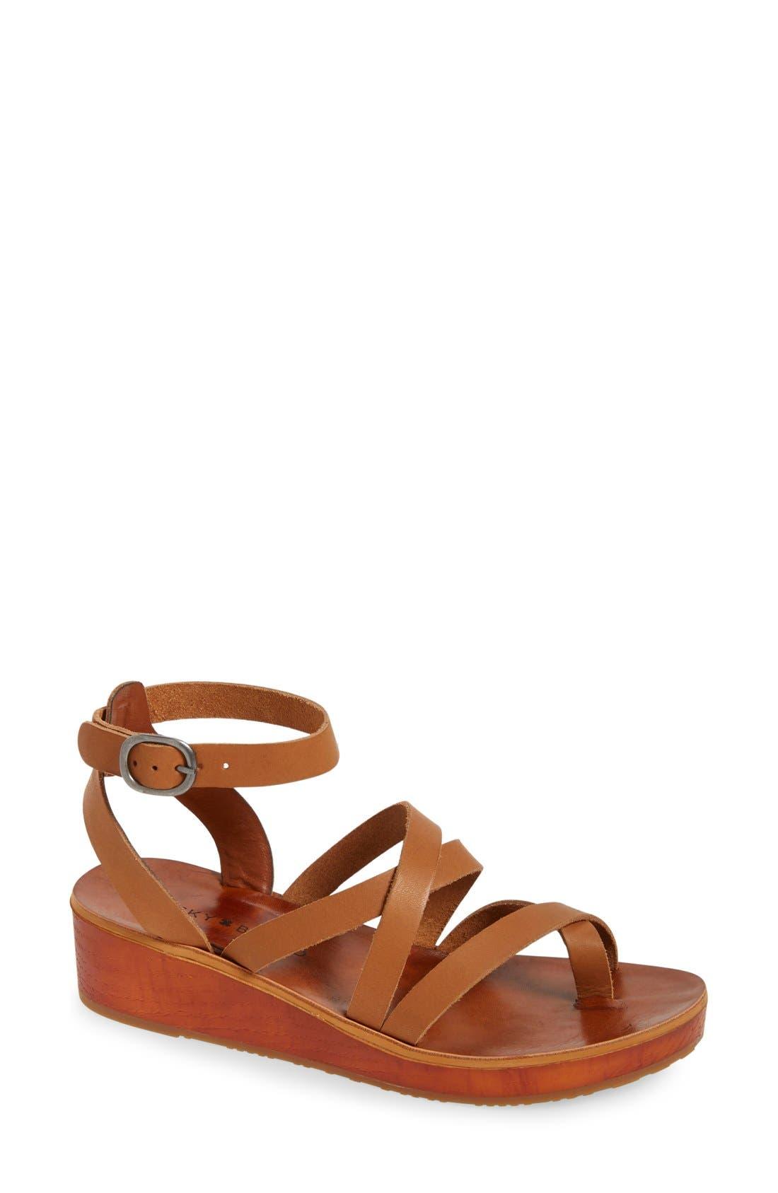 'Honeyy' Platform Sandal,                             Main thumbnail 4, color,
