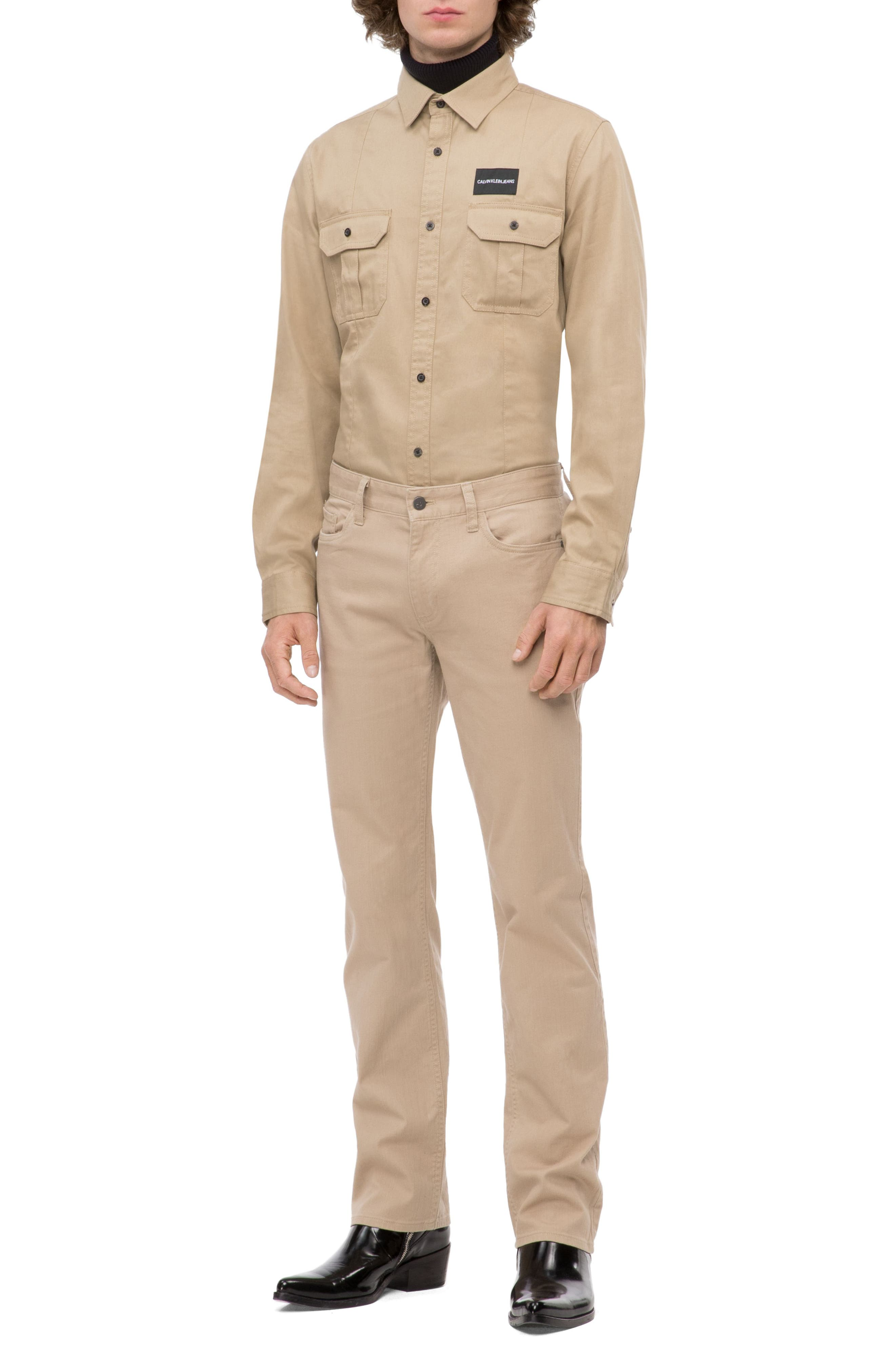 Military Shirt,                             Alternate thumbnail 4, color,                             CANTUCCI