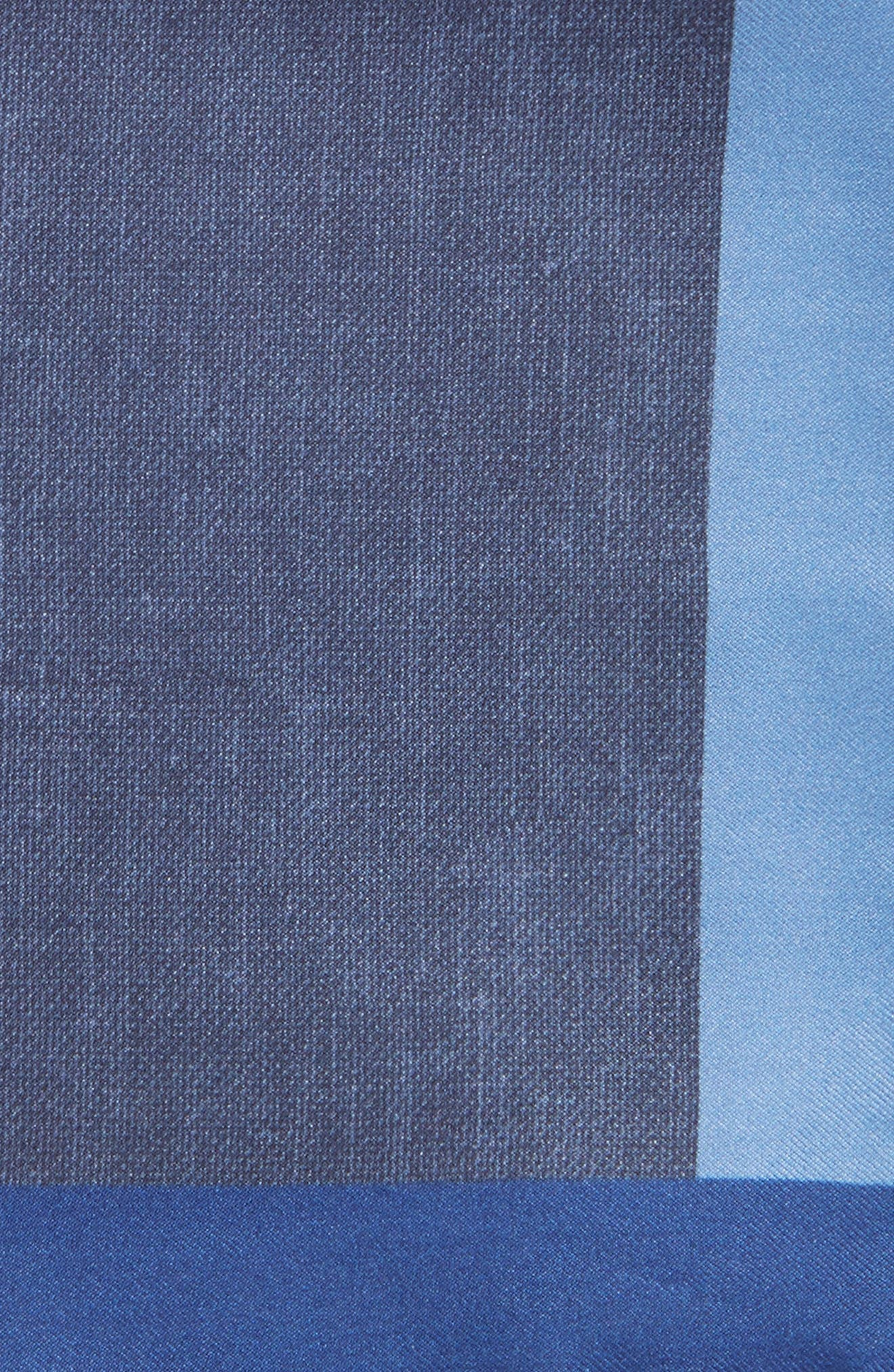 Nordstrom x BOSS Exclusive Silk Pocket Square,                             Alternate thumbnail 3, color,                             403