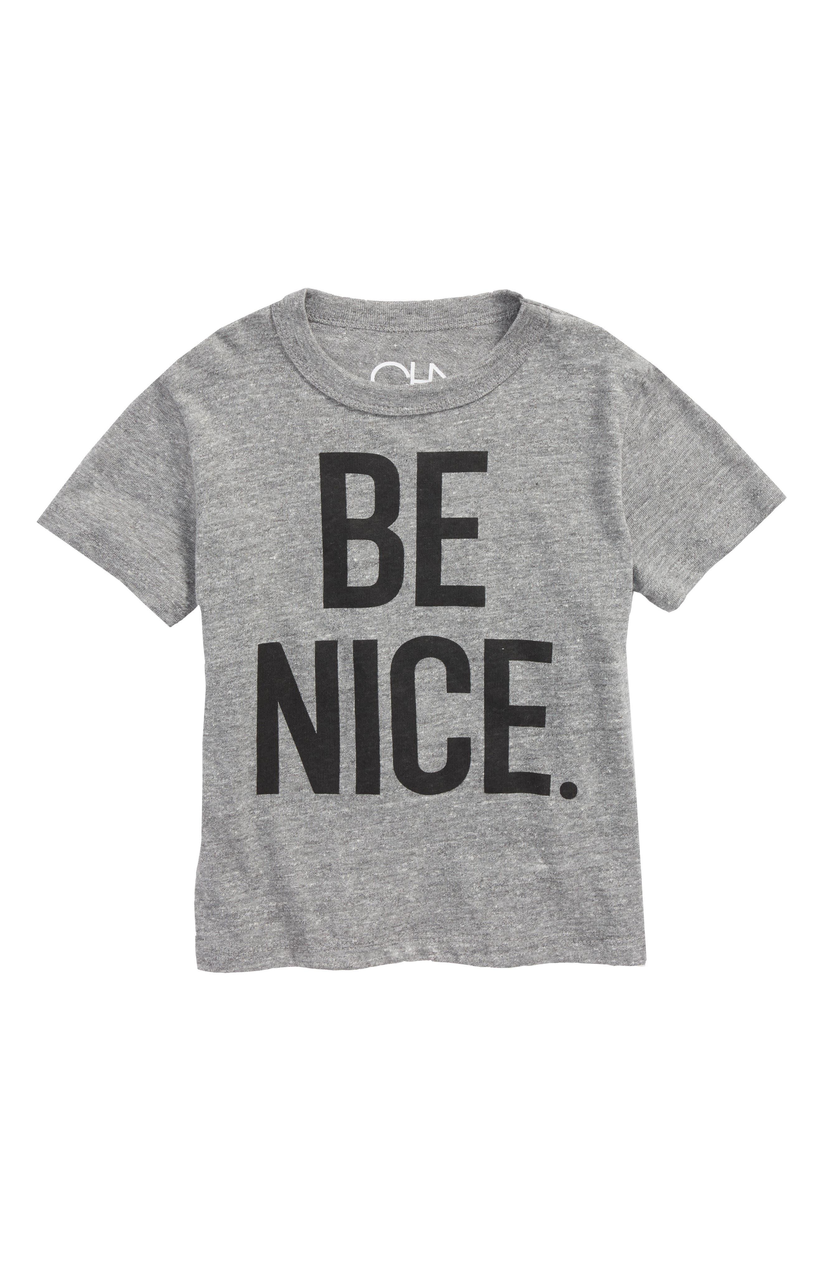Be Nice T-Shirt,                             Main thumbnail 1, color,