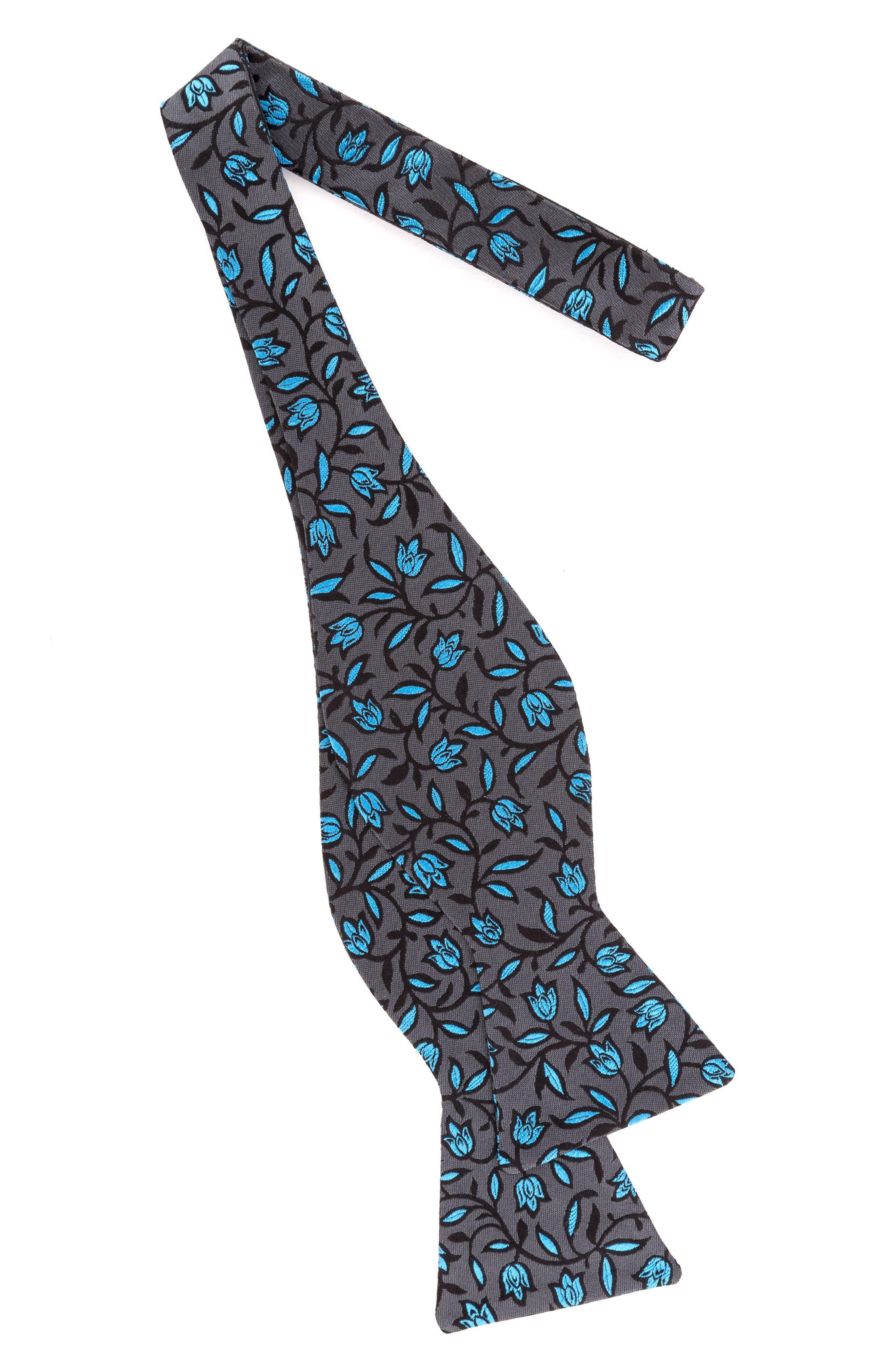 Botanical Bow Tie,                             Alternate thumbnail 4, color,