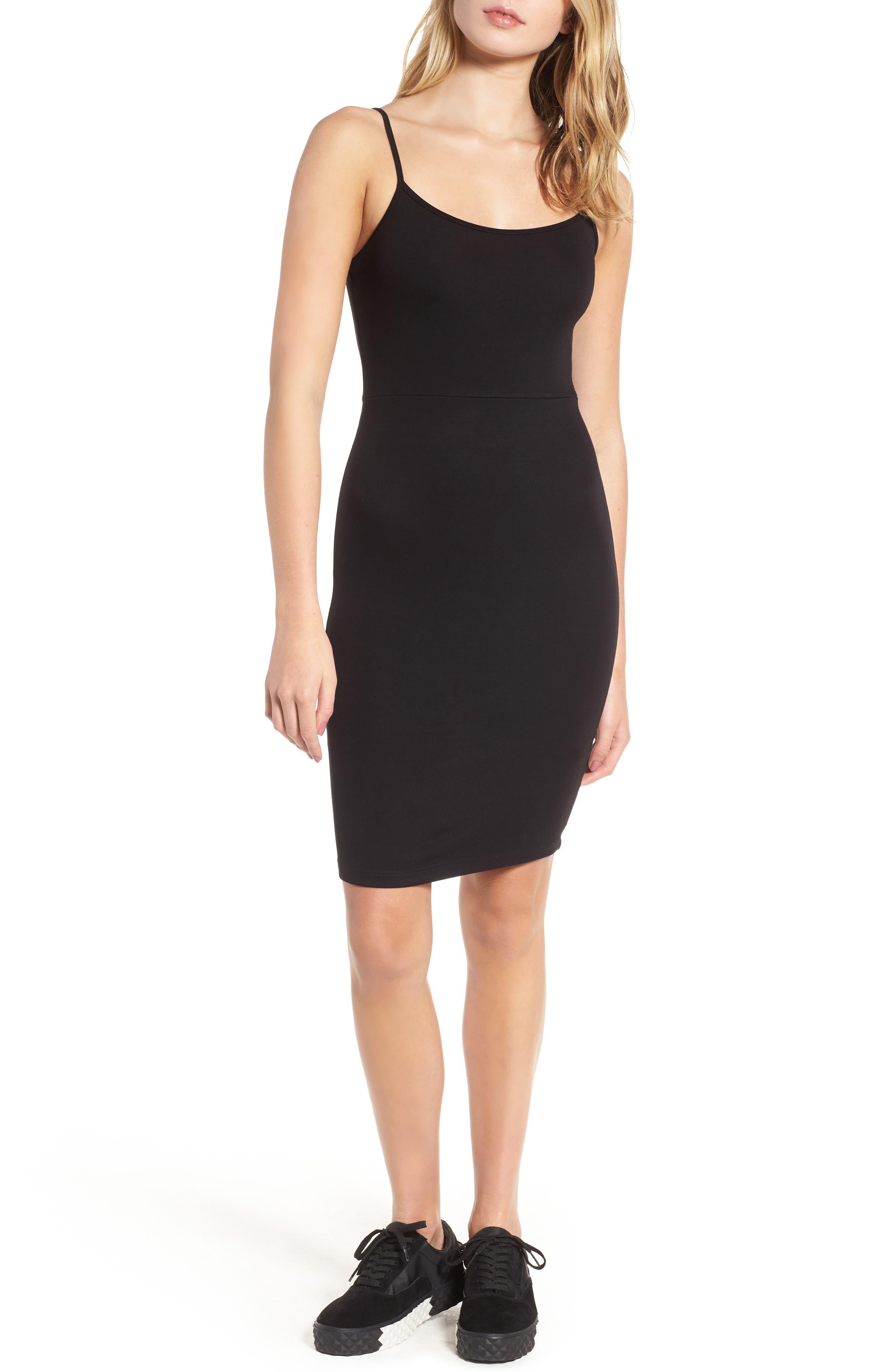 Knit Sheath Dress,                         Main,                         color, 001