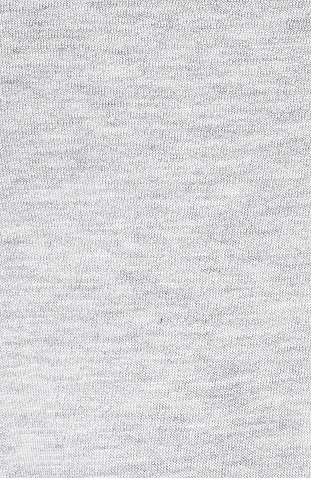 Tie Front Sweatshirt,                             Alternate thumbnail 5, color,                             036
