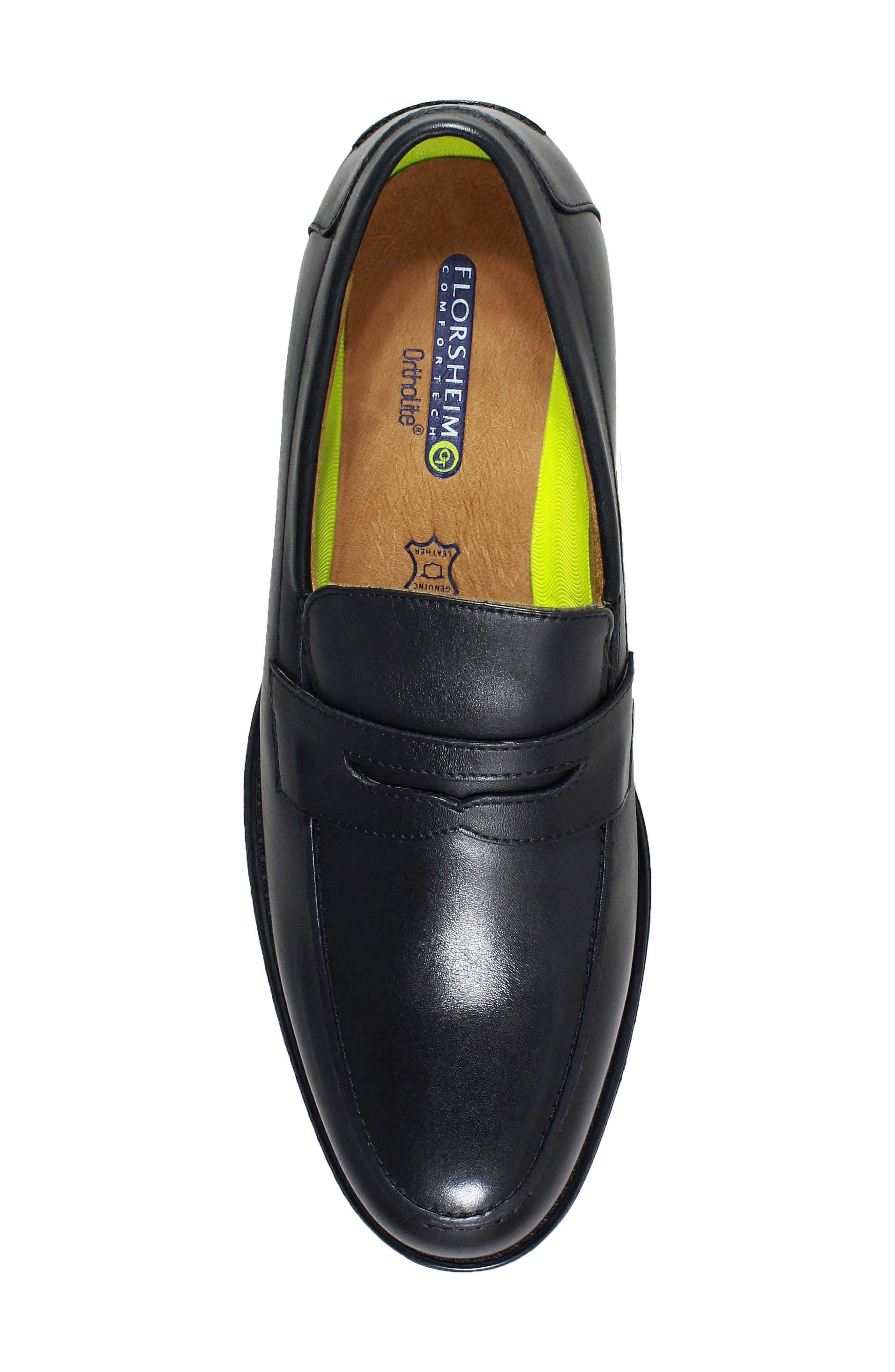 Midtown Penny Loafer,                             Alternate thumbnail 5, color,                             001