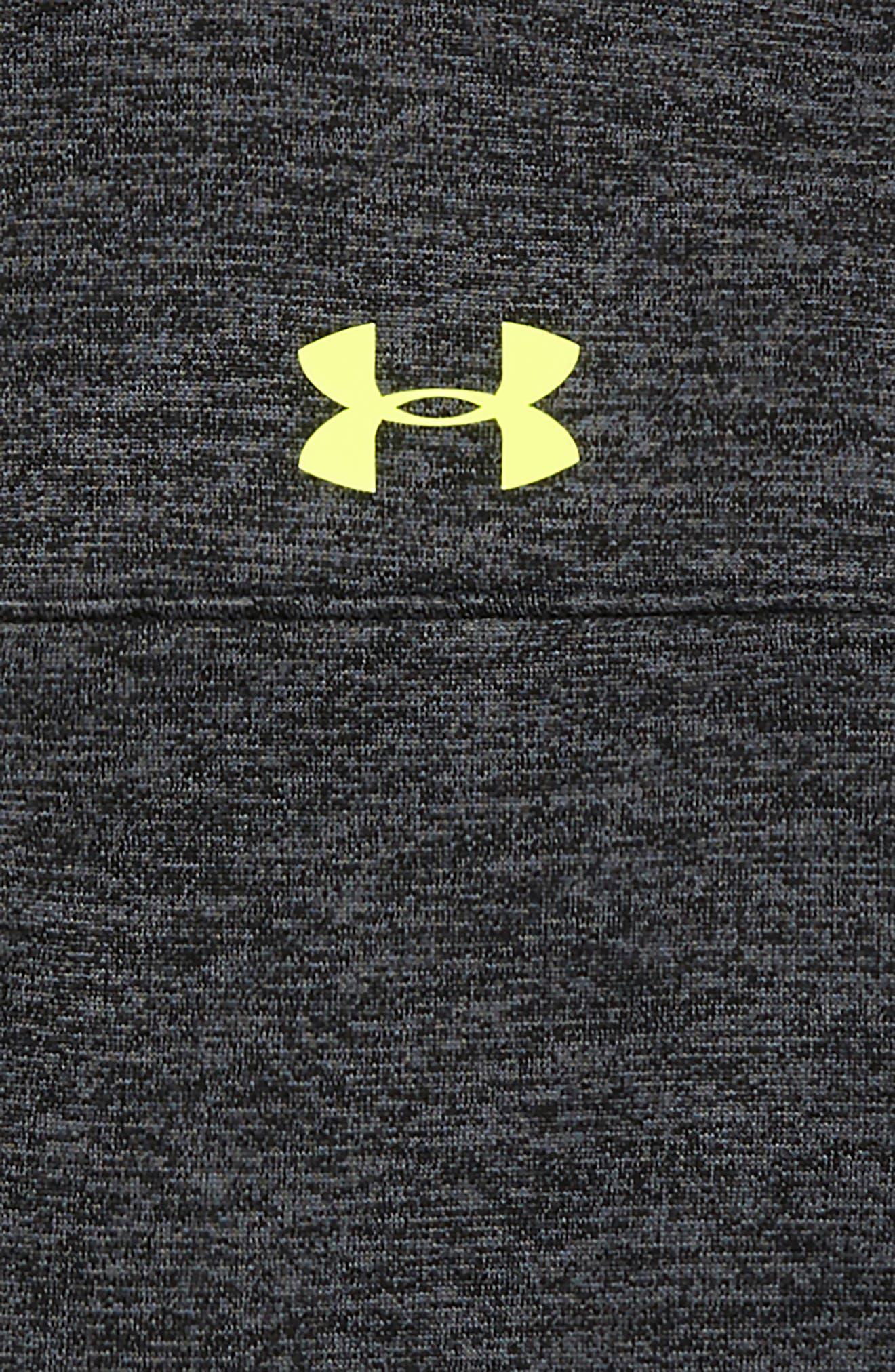 Lockdown Quarter Zip Pullover,                             Alternate thumbnail 2, color,                             BLACK