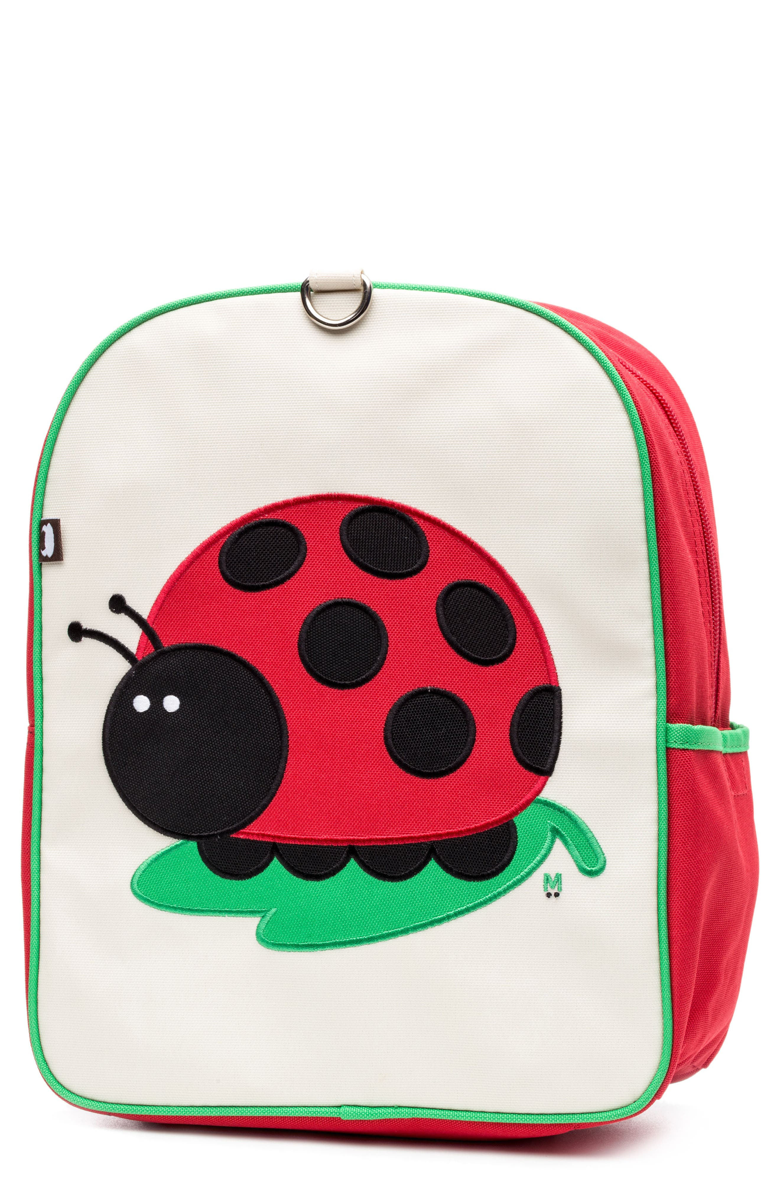 Little Kid Backpack,                         Main,                         color, JUJU THE LADYBUG