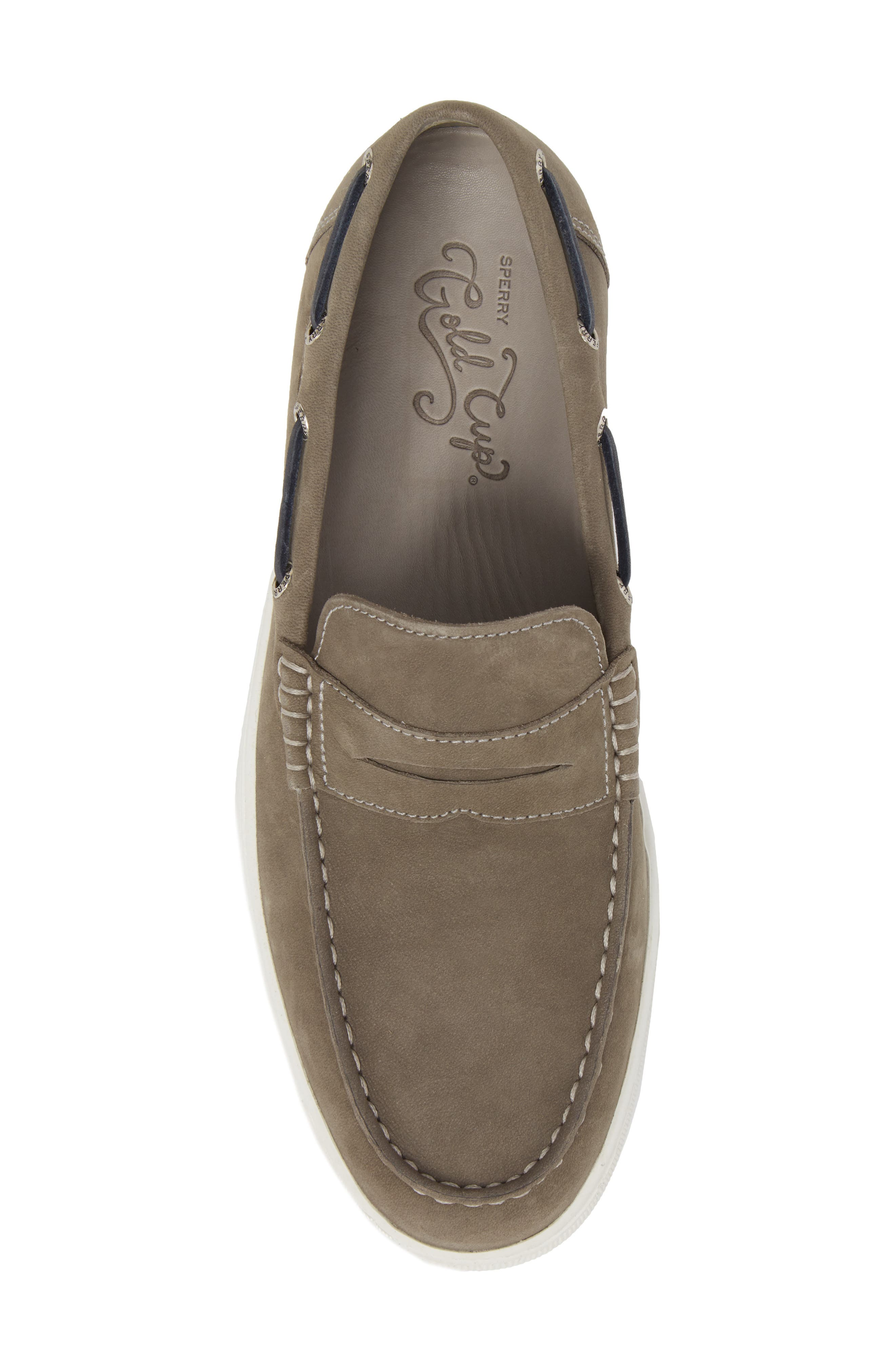 Gold Cup Penny Loafer,                             Alternate thumbnail 5, color,                             020