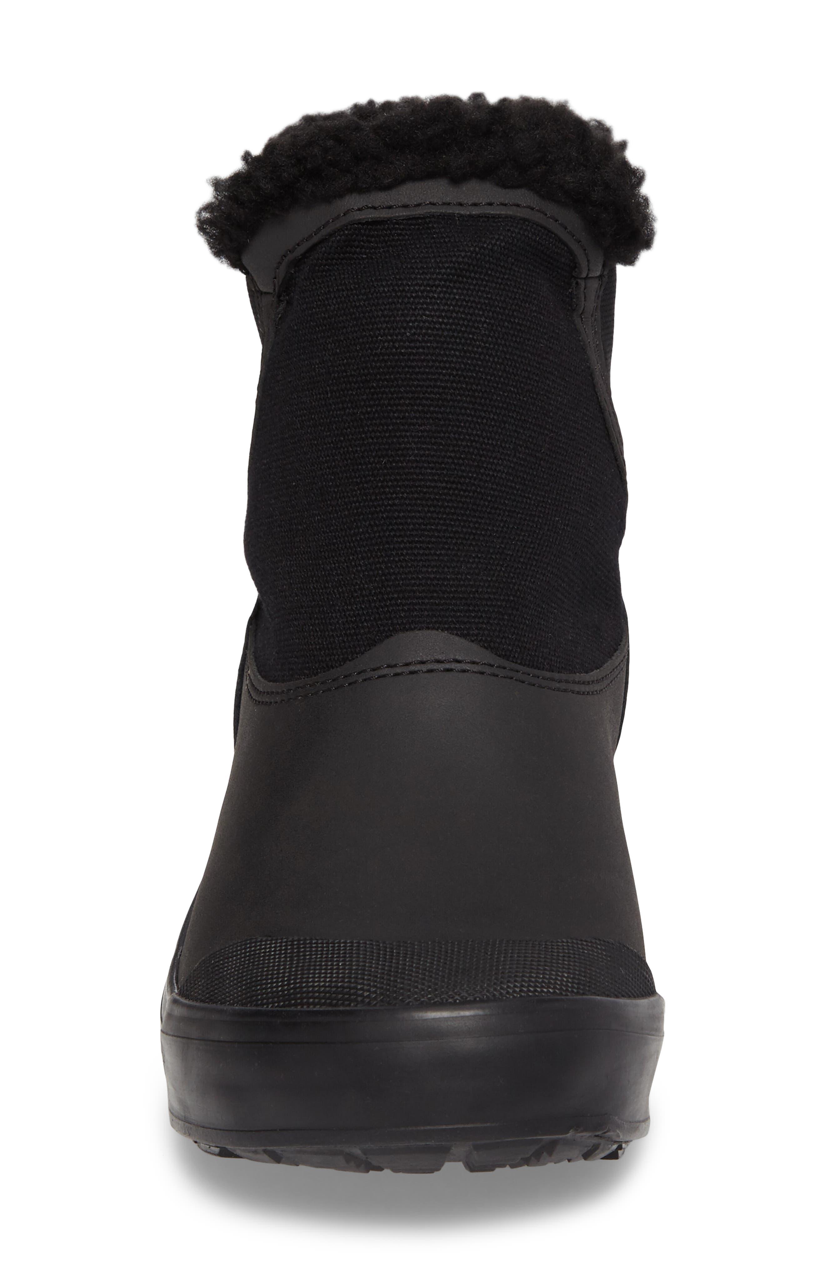 Elsa Chelsea Waterproof Faux Fur Lined Boot,                             Alternate thumbnail 13, color,