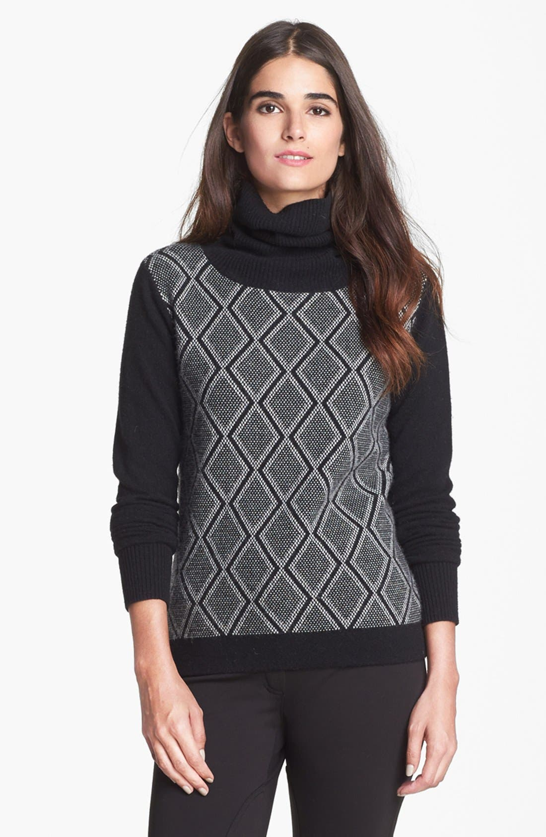 'Slogan' Wool & Cashmere Sweater, Main, color, 001