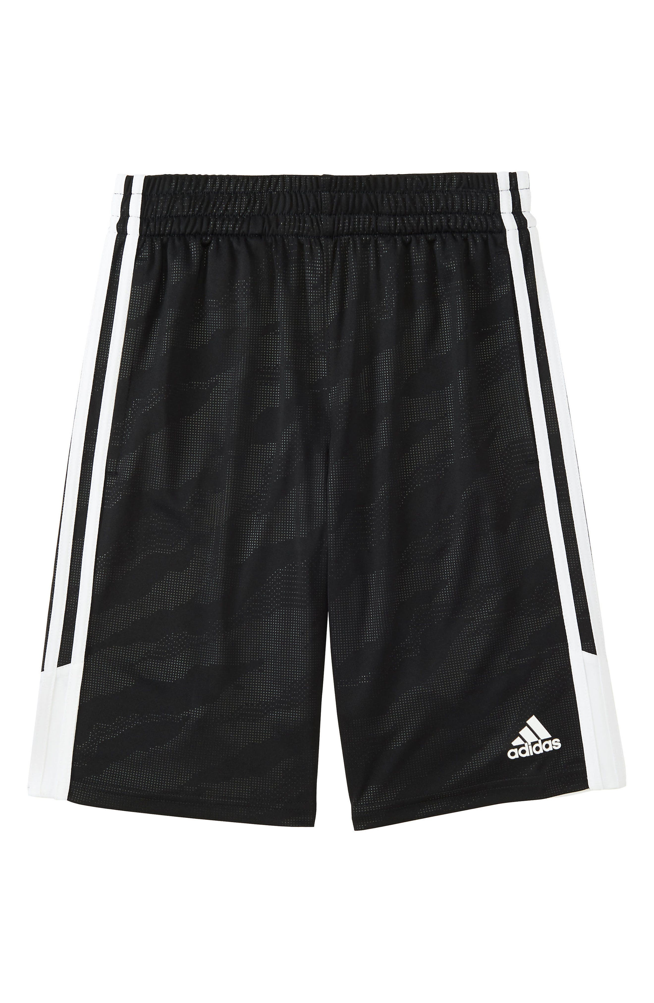 Camo Shorts,                             Main thumbnail 1, color,                             BLACK