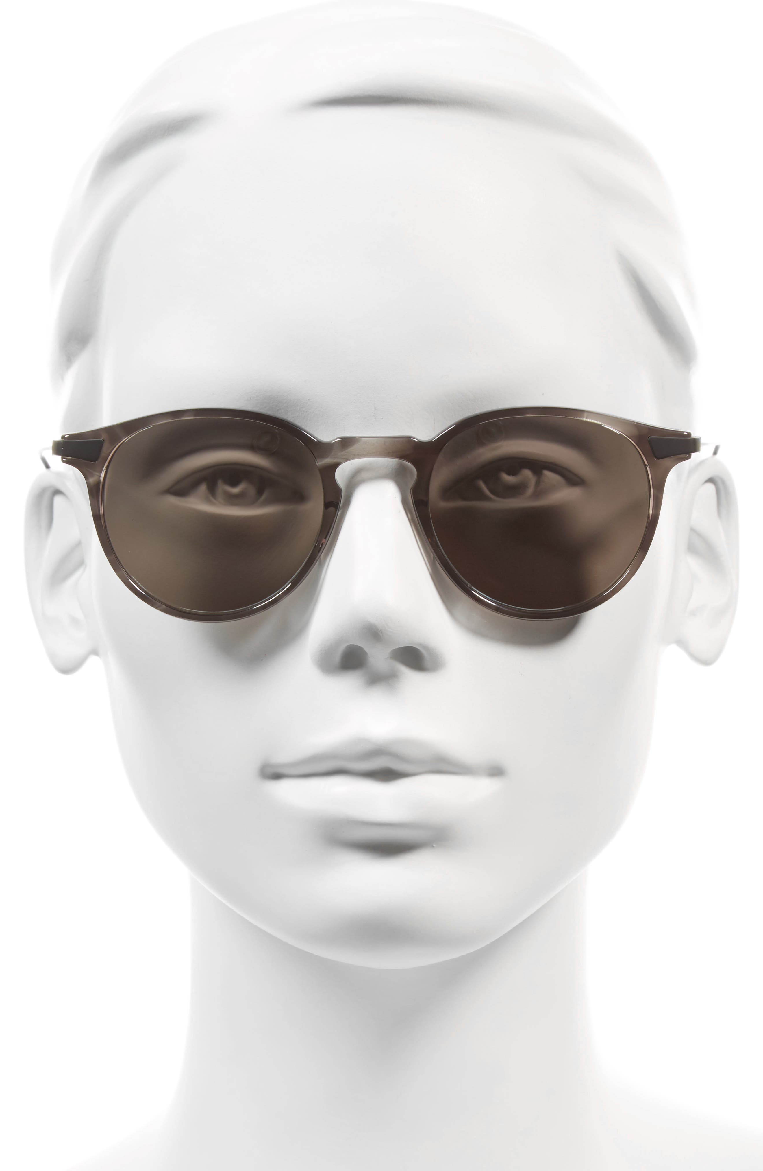 Rick 48mm Polarized Round Sunglasses,                             Alternate thumbnail 2, color,                             020