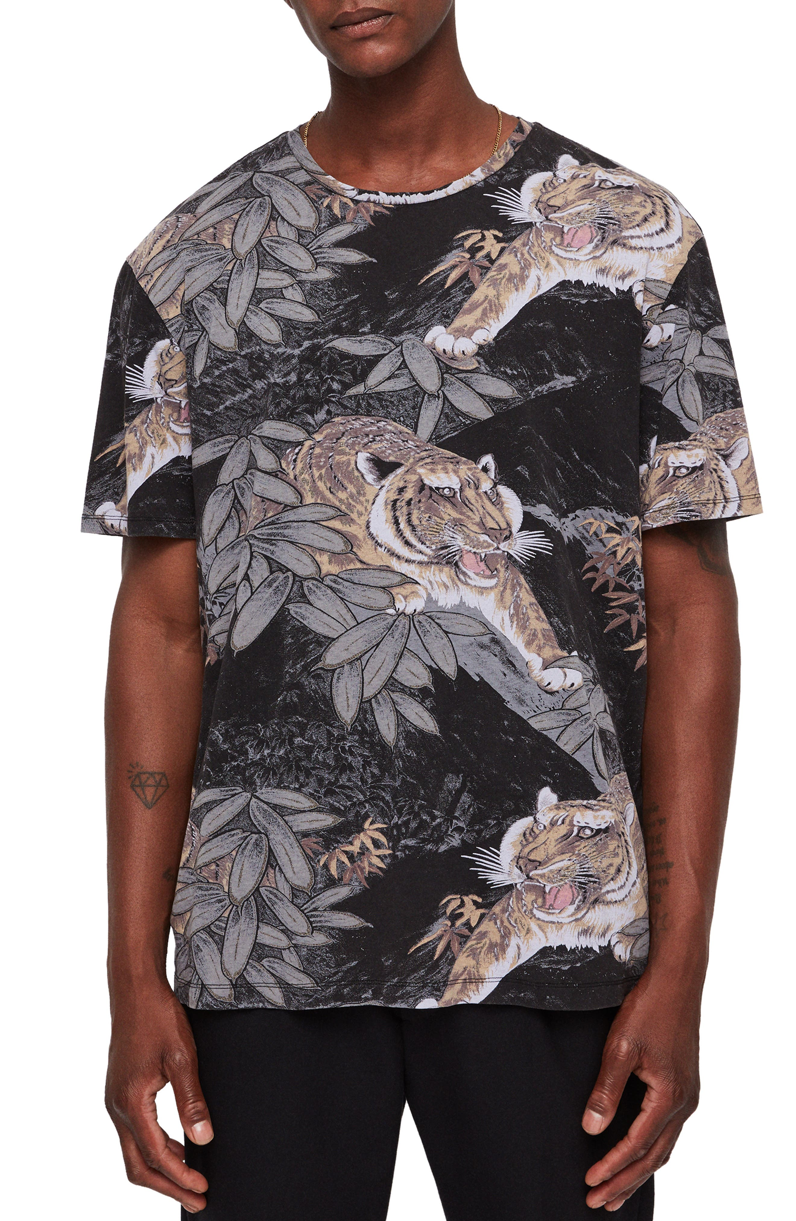 Chokai Slim Fit T-Shirt,                             Main thumbnail 1, color,                             004