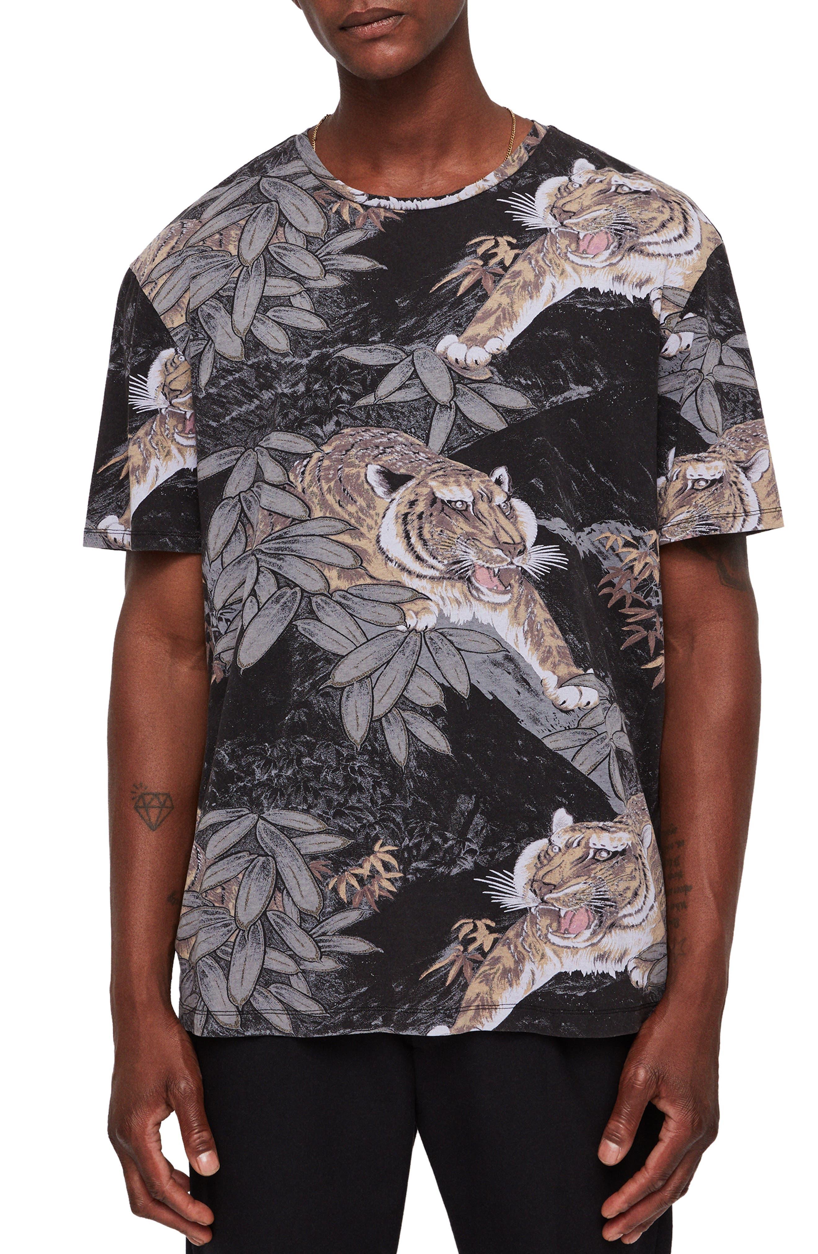 Chokai Slim Fit T-Shirt,                         Main,                         color, VINTAGE BLACK