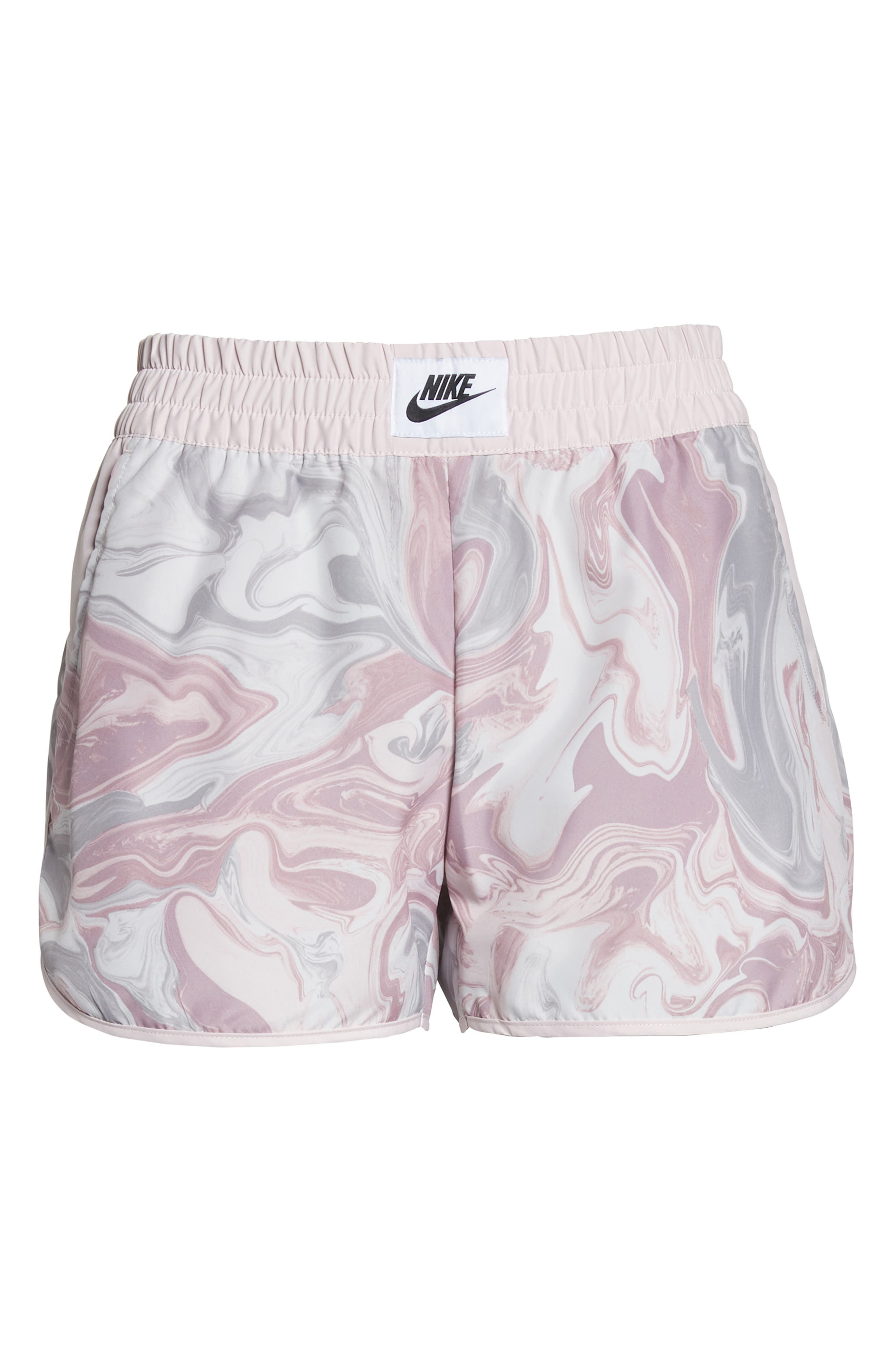 Sportswear Woven Shorts,                             Alternate thumbnail 7, color,                             ELEMENTAL ROSE/ BARELY ROSE