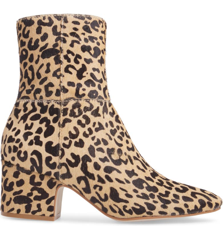MATISSE Boots AT EASE GENUINE CALF HAIR BOOTIE