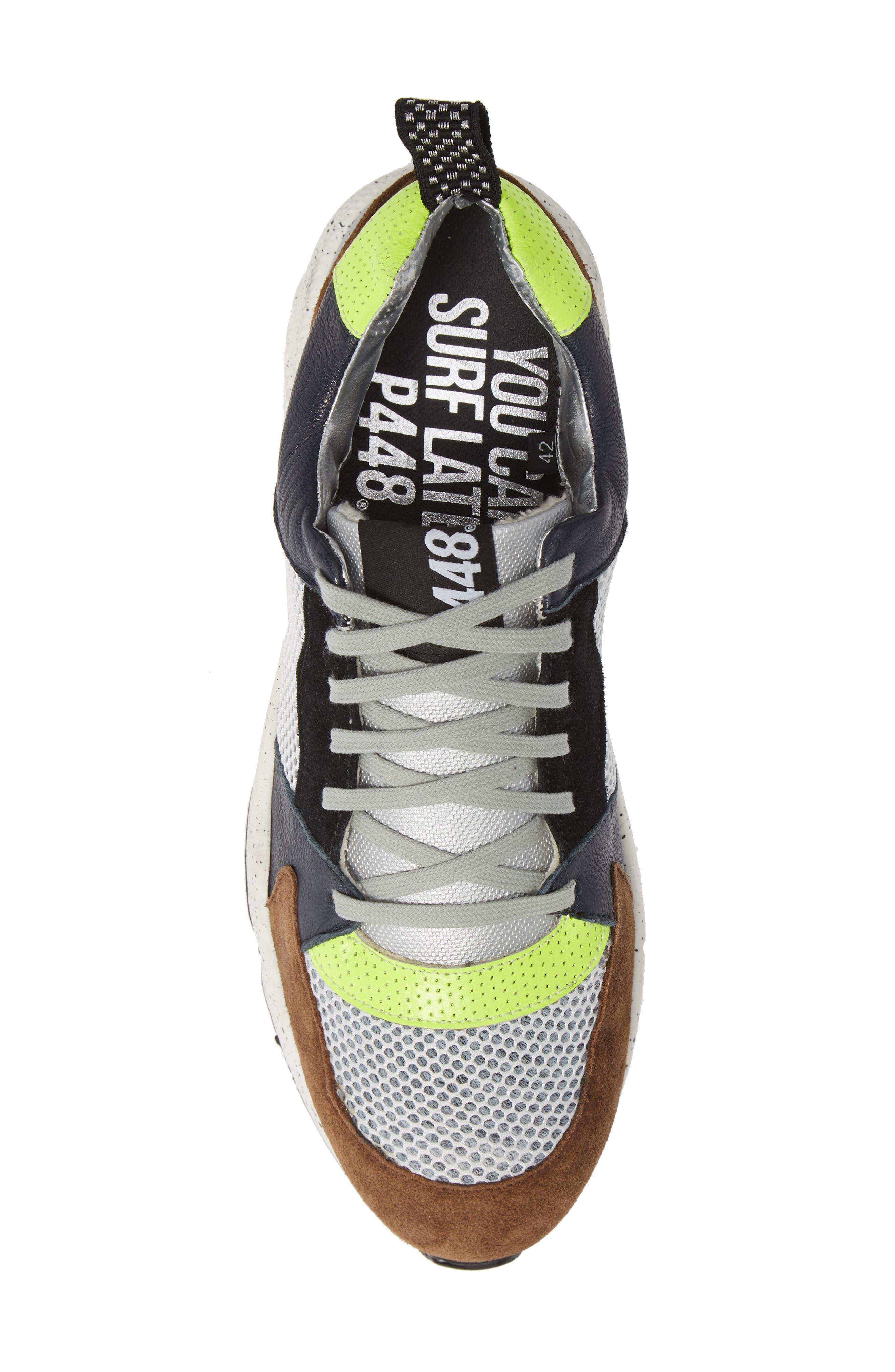 P448,                             A8Alex Sneaker,                             Alternate thumbnail 5, color,                             YELLOW