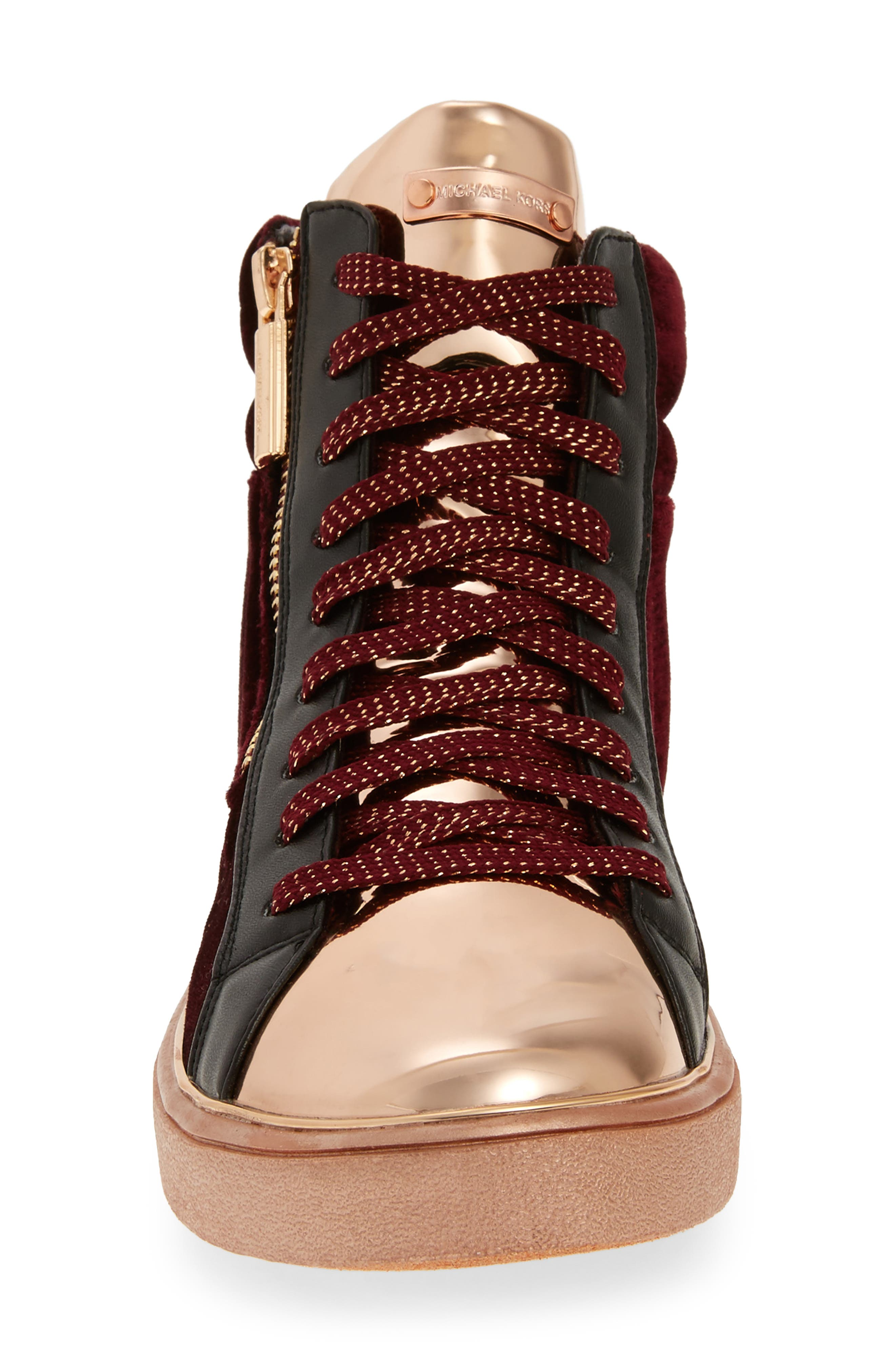 Ivy Blue High Top Sneaker,                             Alternate thumbnail 8, color,
