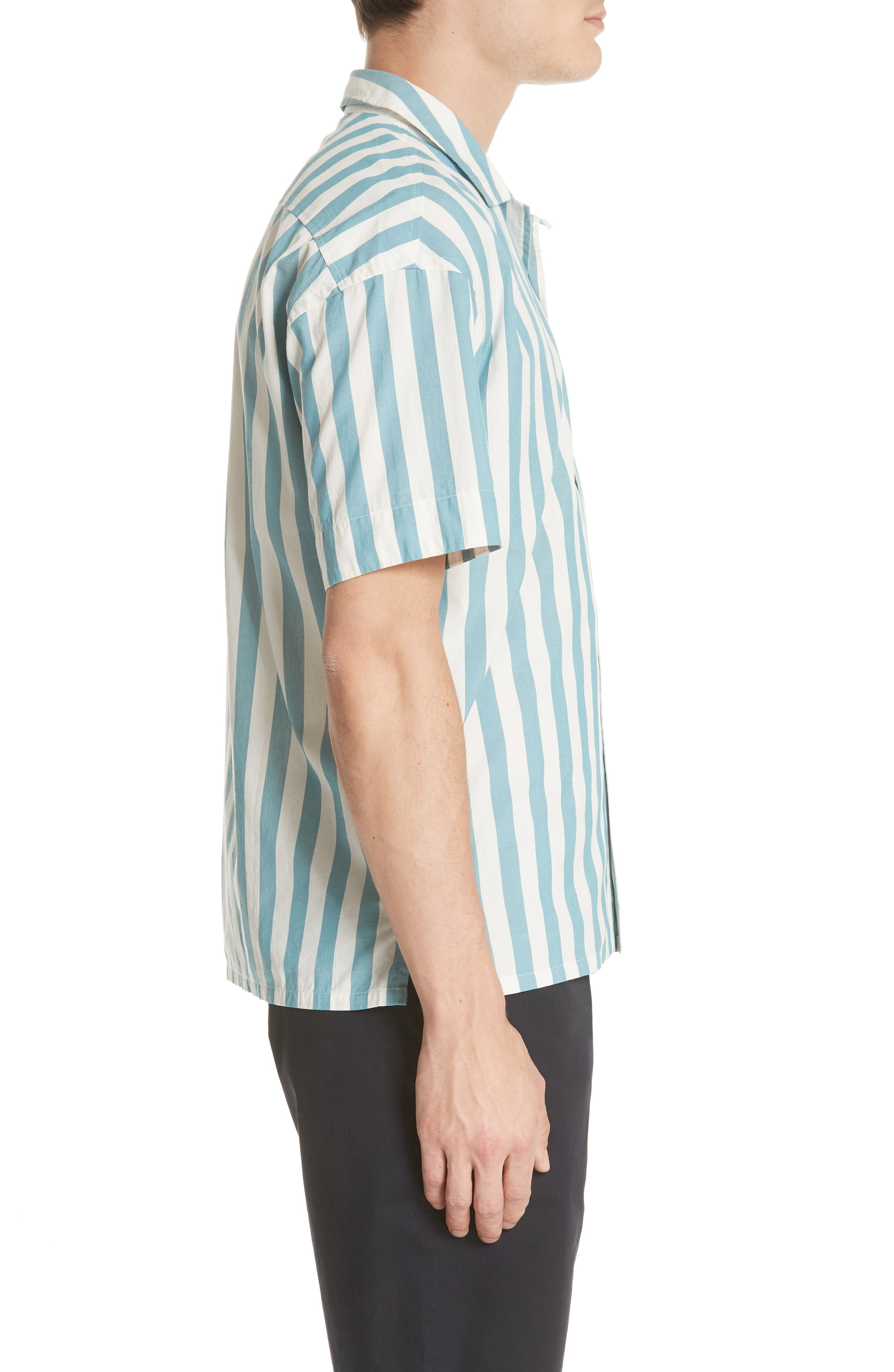 Harley Stripe Shirt,                             Alternate thumbnail 3, color,