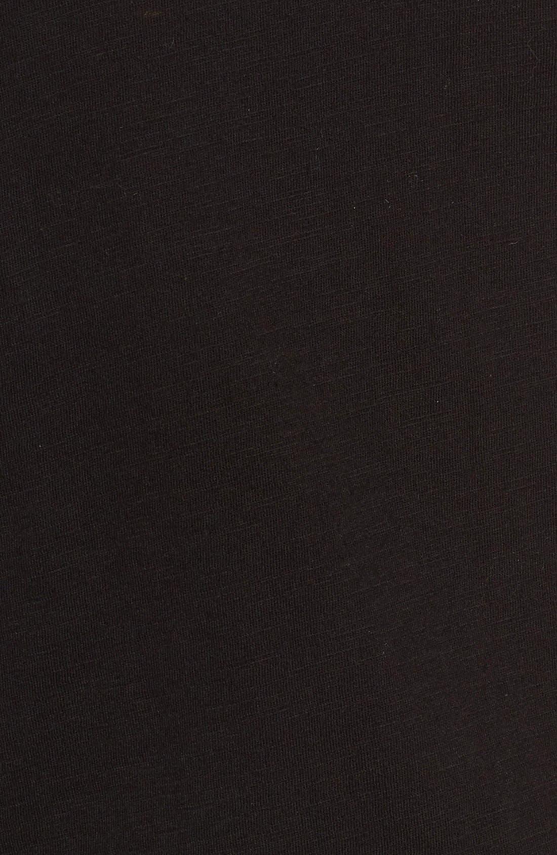 Organic Cotton V-Neck Tee,                             Alternate thumbnail 116, color,