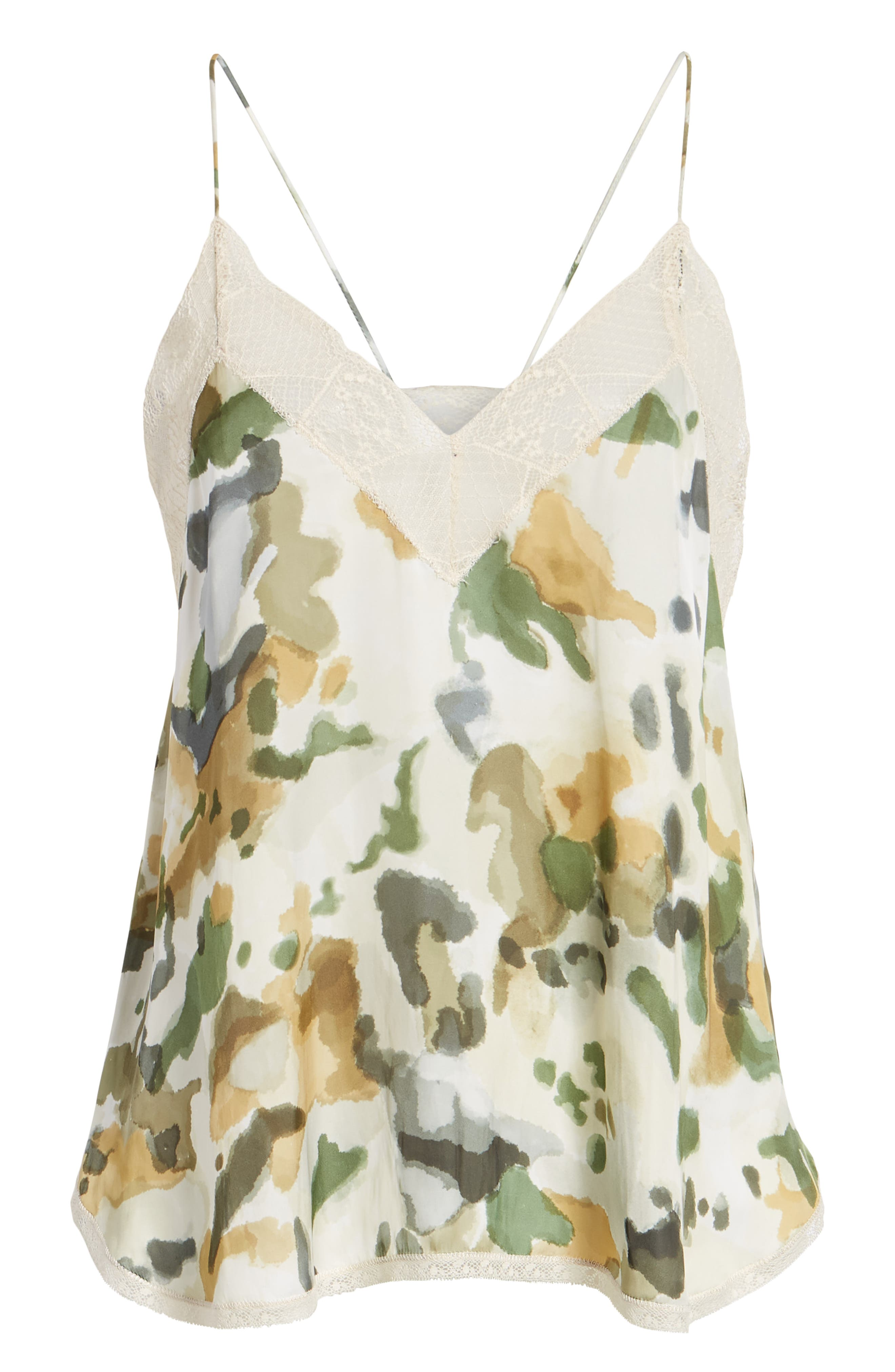 Christy Camouflage Camisole,                             Alternate thumbnail 6, color,                             BEIGE