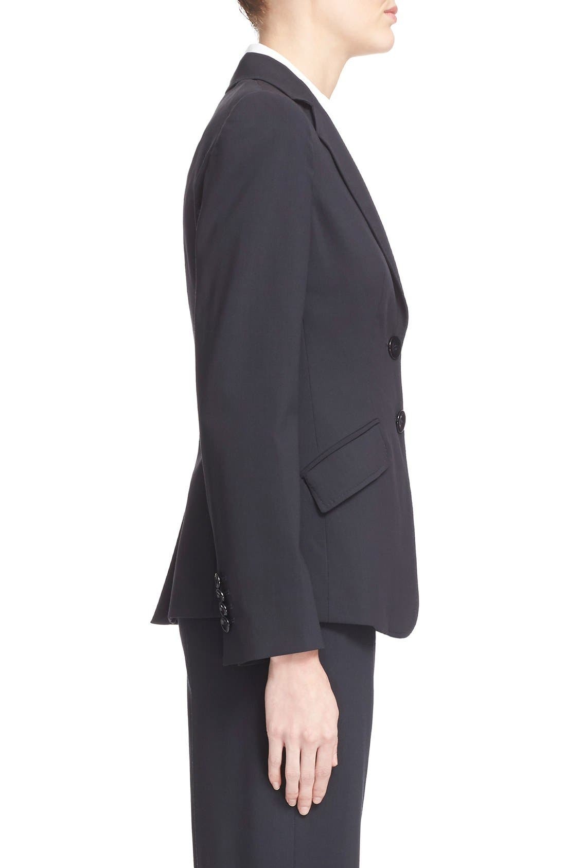 Two-Button Featherweight Wool Jacket,                             Alternate thumbnail 6, color,                             459