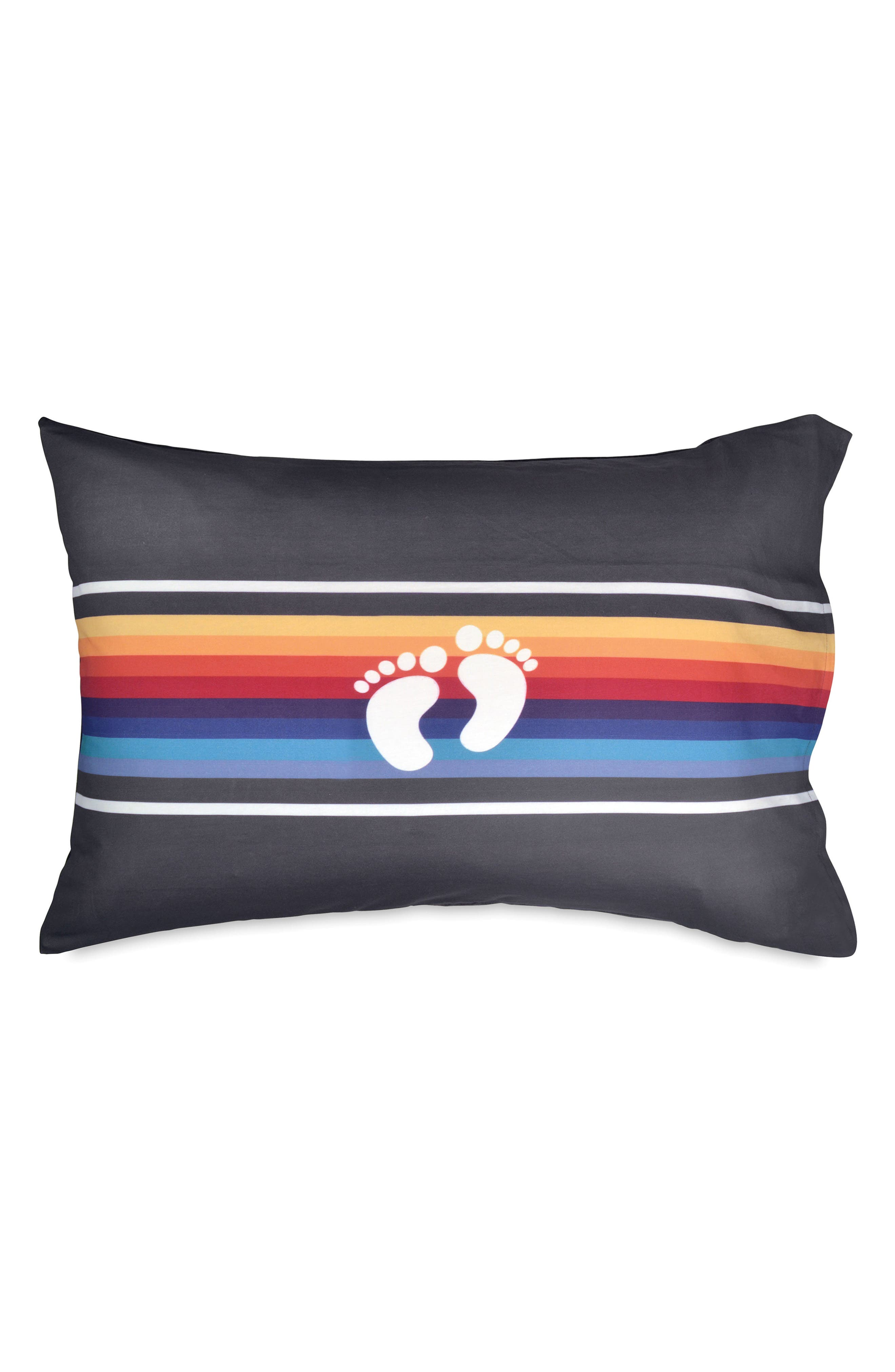 Stripe Pillowcase,                             Main thumbnail 1, color,                             400