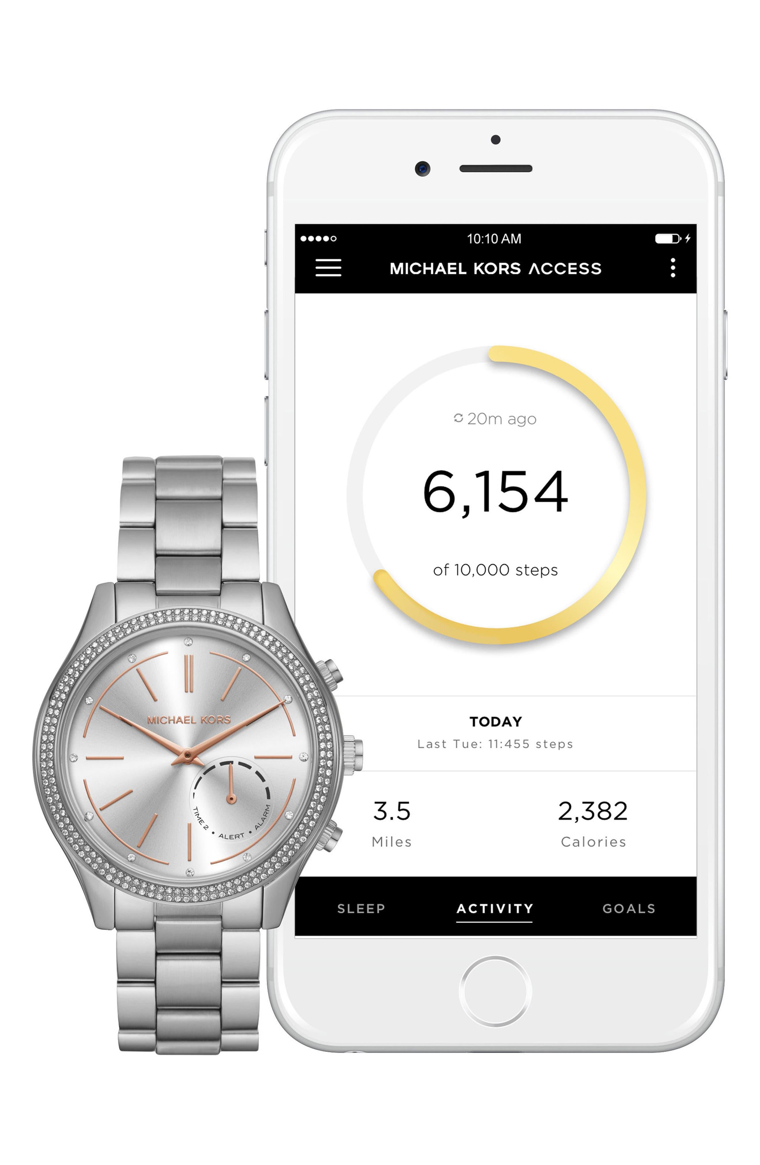 Access Smart Bracelet Watch, 42mm,                             Alternate thumbnail 9, color,