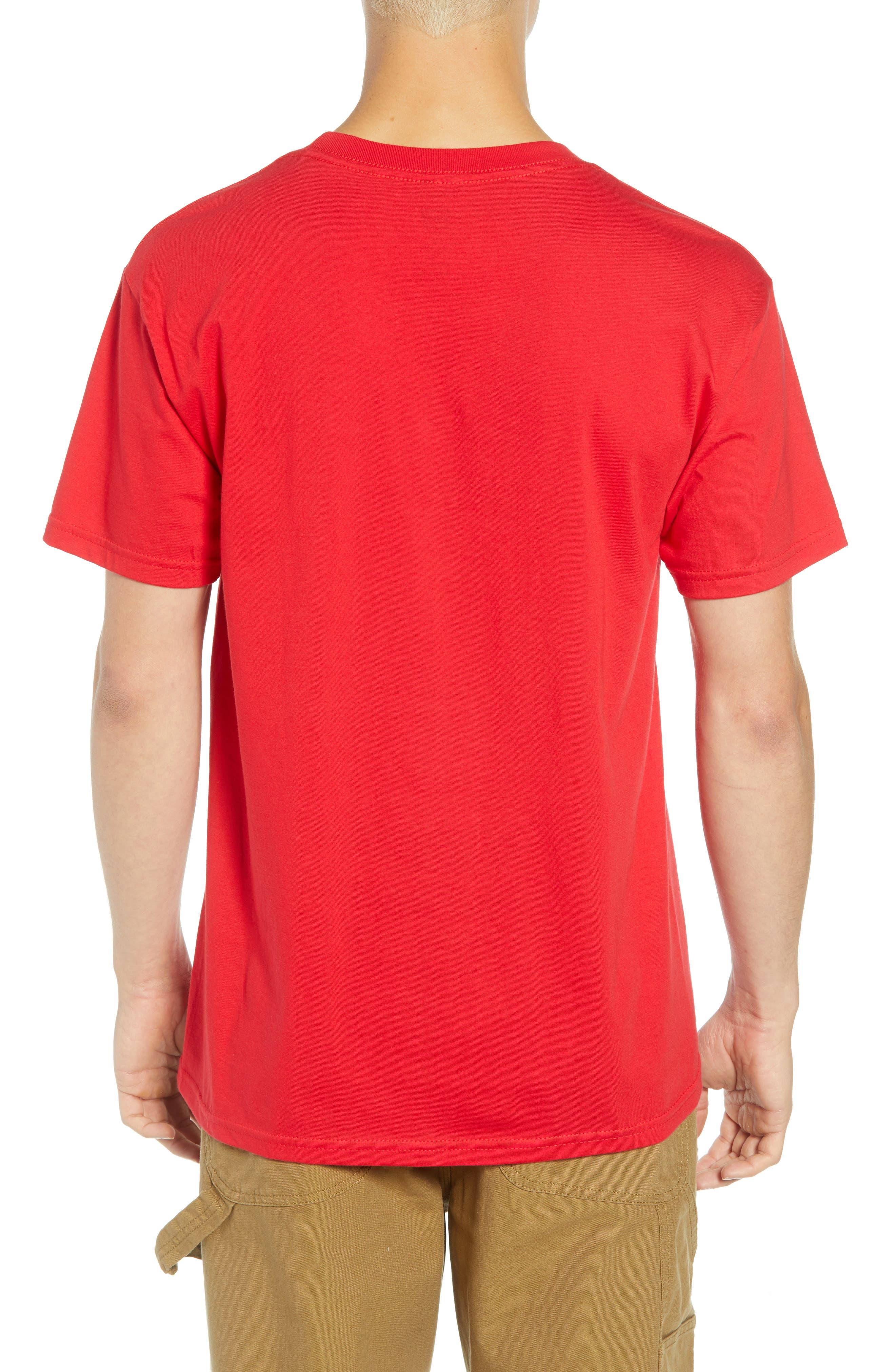 Cultural Rigor Mortis Premium T-Shirt,                             Alternate thumbnail 2, color,                             RED