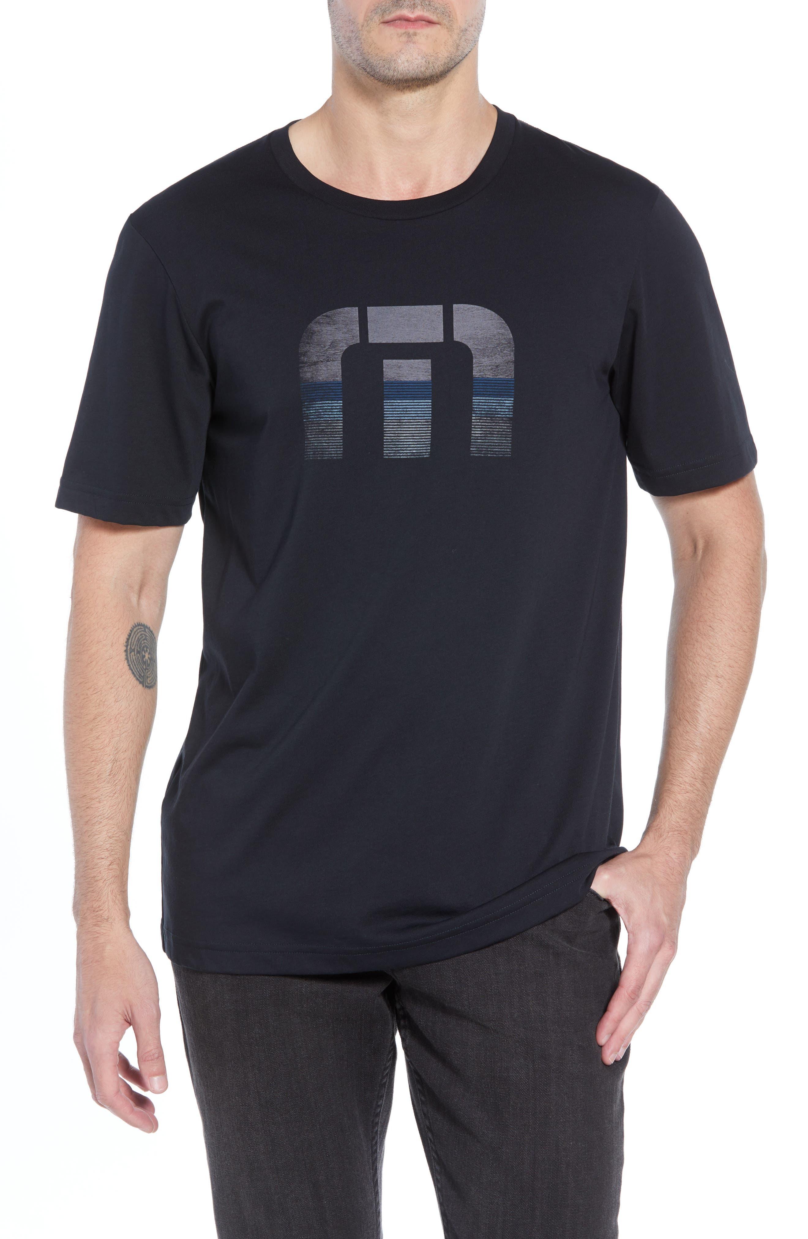 Rock City Crewneck T-Shirt,                         Main,                         color, BLACK