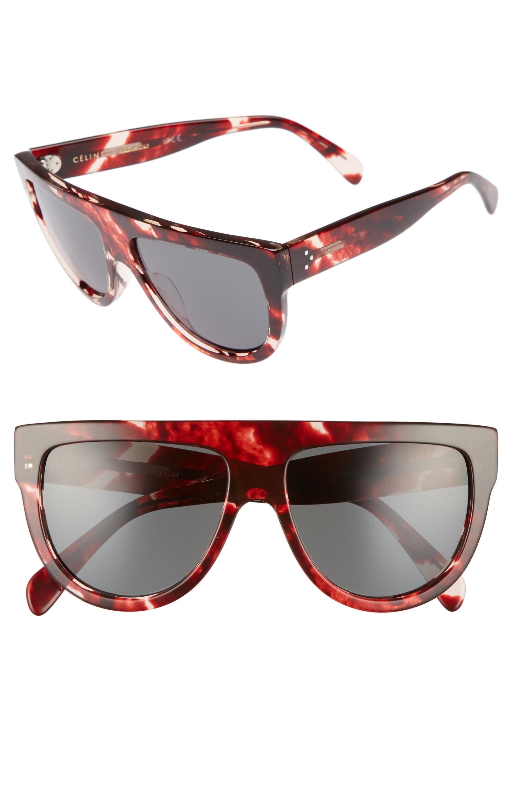 4049f3bc48 0bv8178 Cat Eye Sunglasses Source · C line Flat Top Sunglasses Nordstrom
