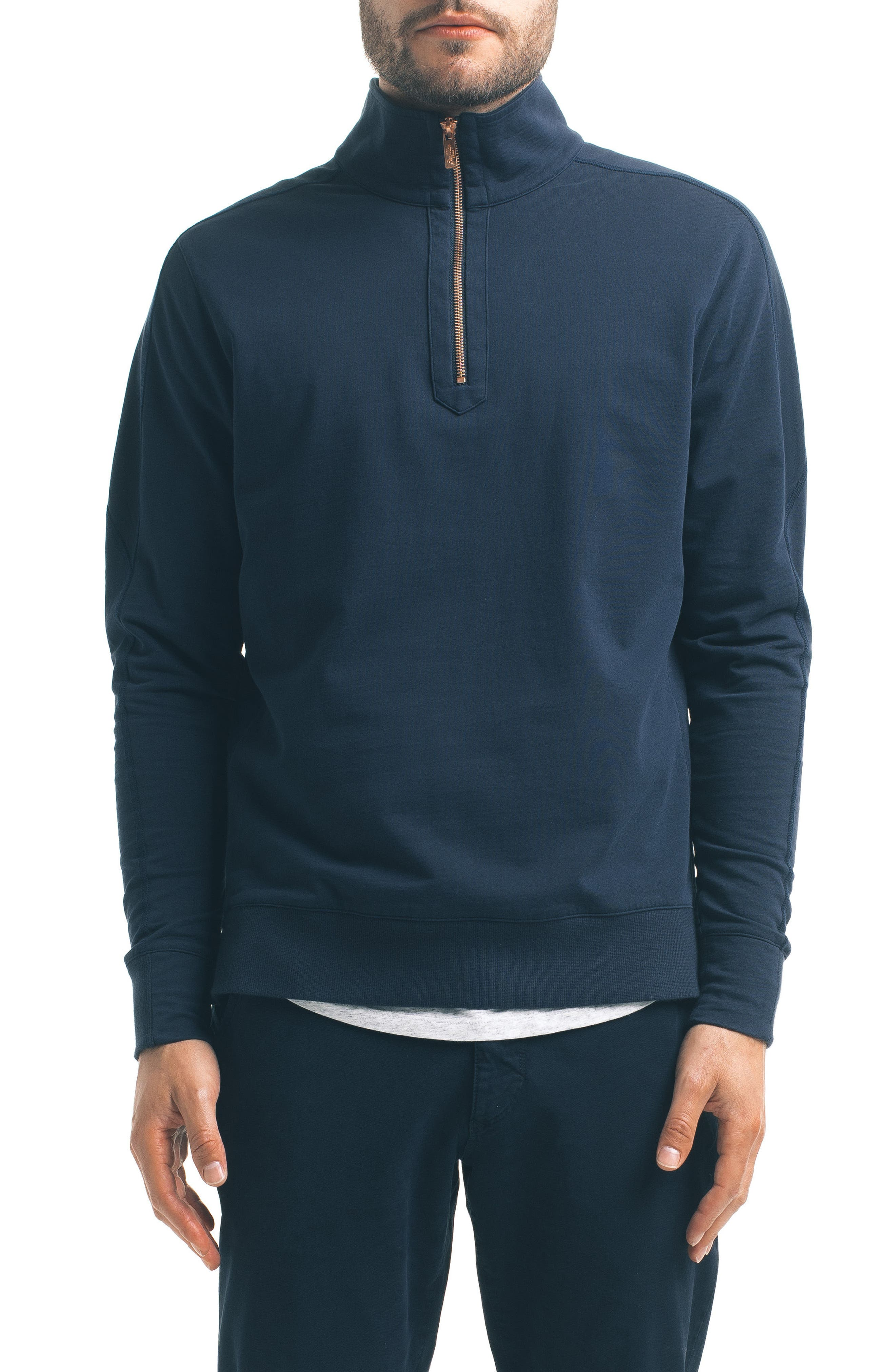 Slim Pro Quarter Zip Pullover,                             Main thumbnail 3, color,