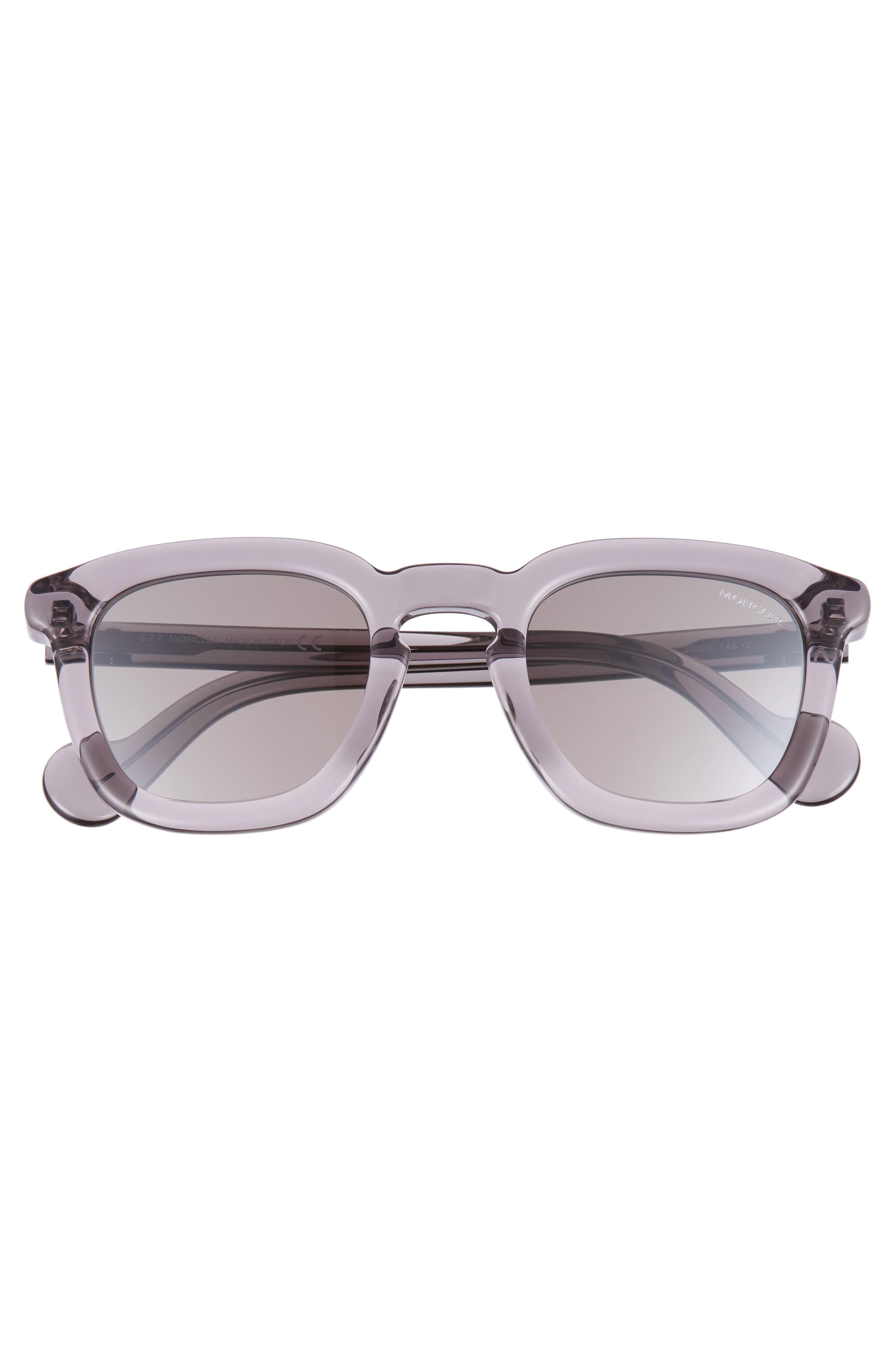 50mm Square Sunglasses,                             Alternate thumbnail 5, color,
