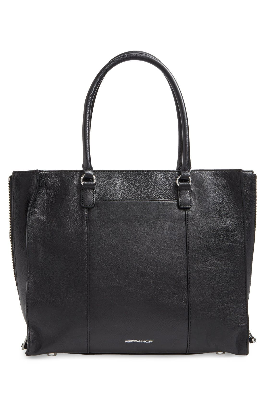 'Side Zip Regan' Tote,                             Alternate thumbnail 19, color,