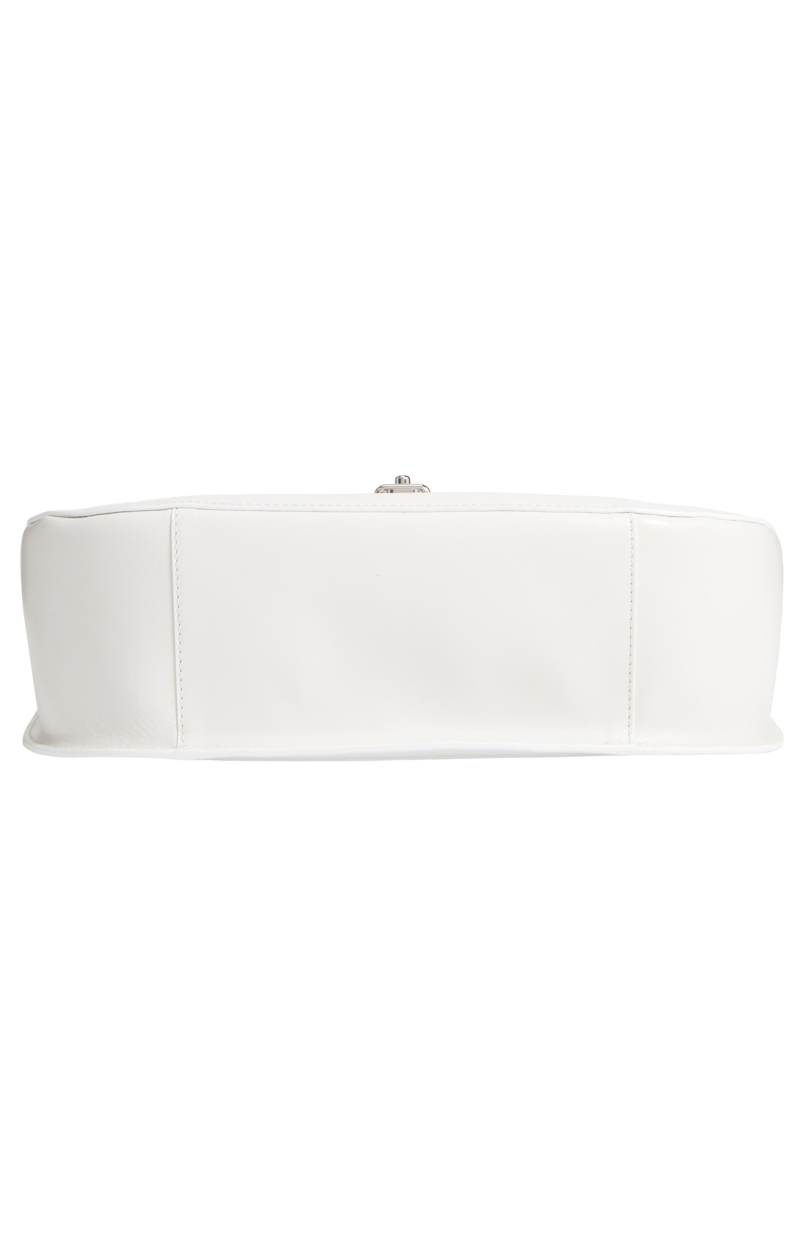 Top Handle Round Lock Shoulder Bag,                             Alternate thumbnail 6, color,                             101