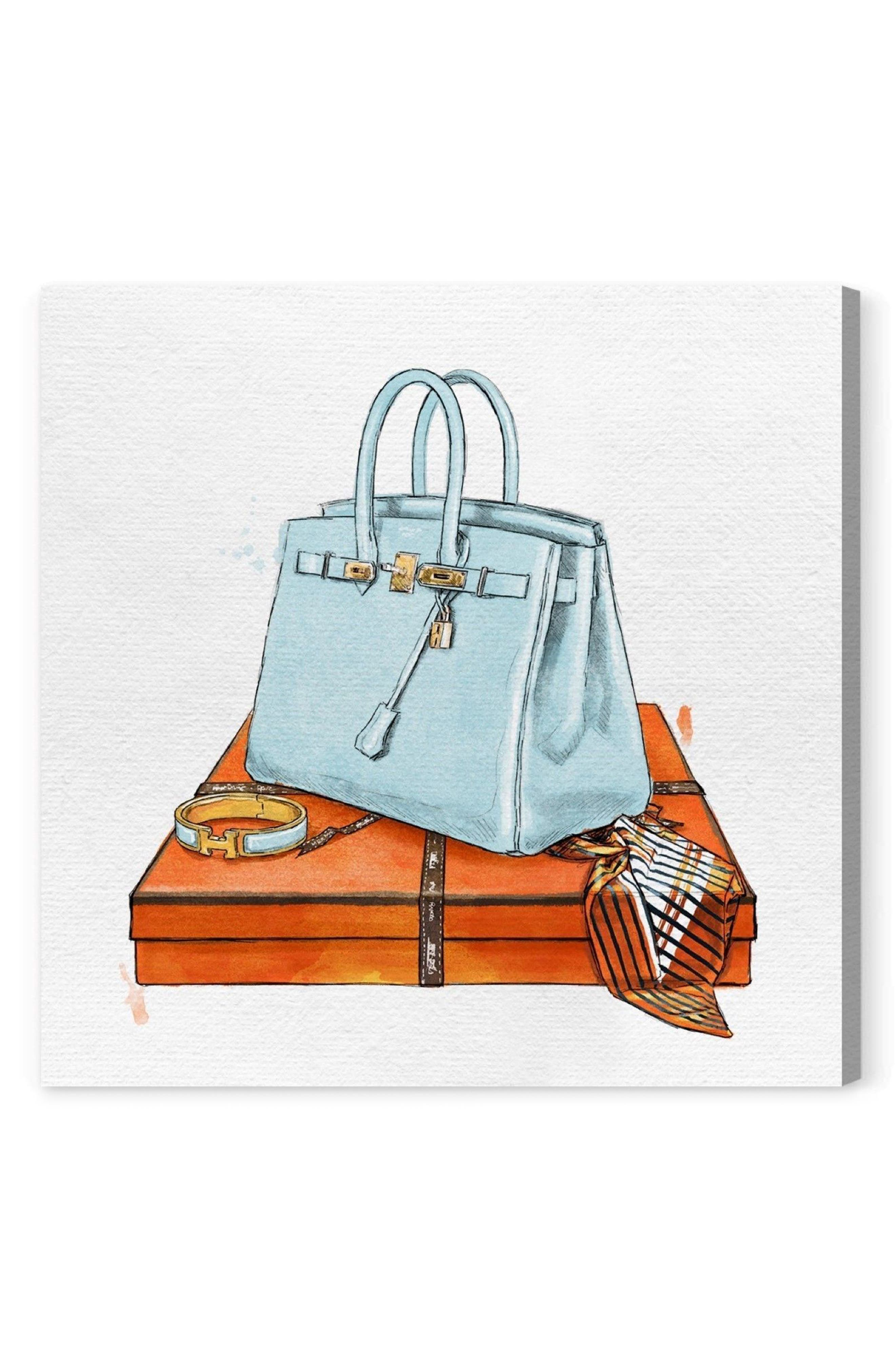 My Bag Collection I Canvas Print,                             Alternate thumbnail 2, color,                             400