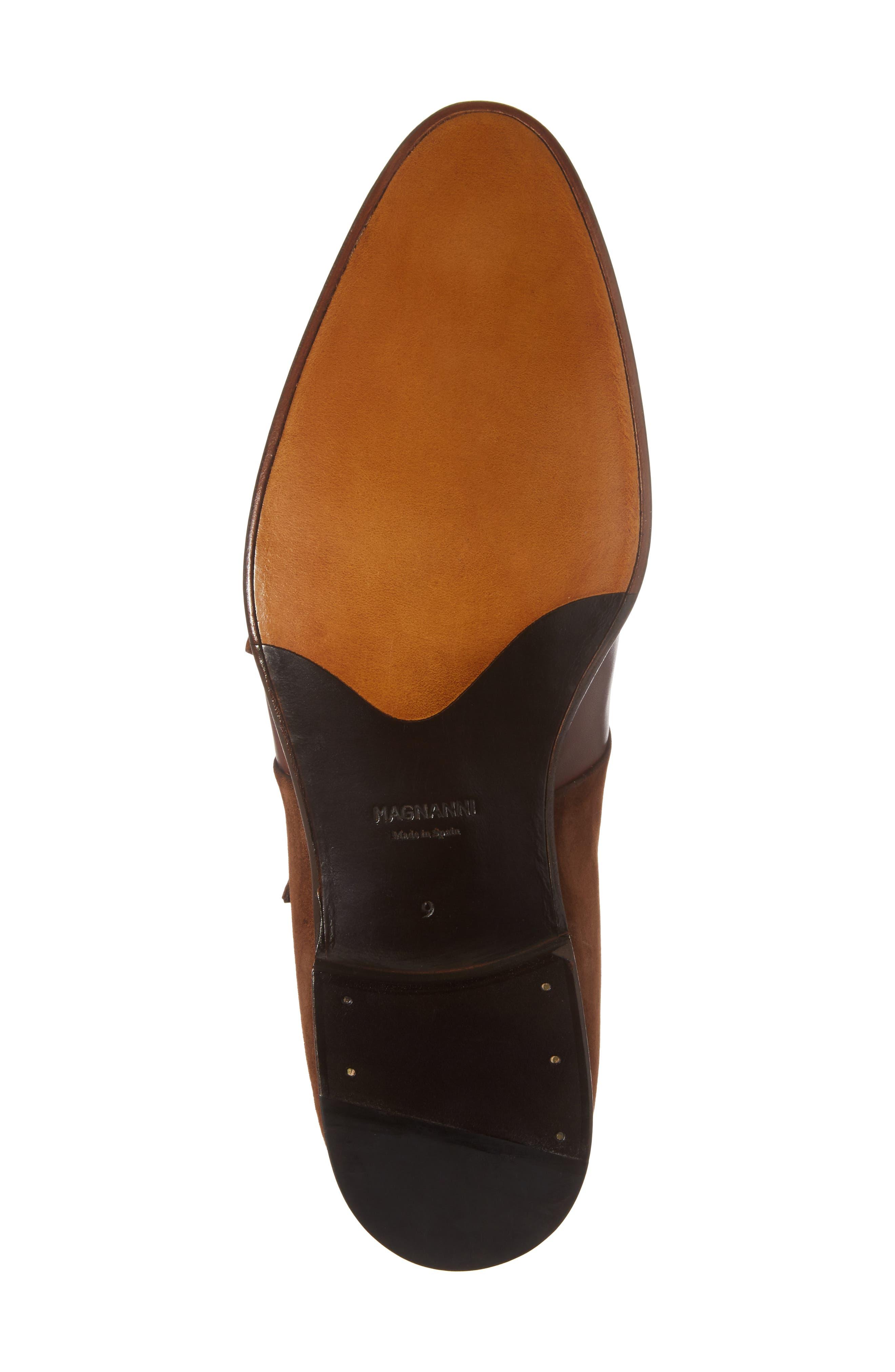 Orville Double Monk Strap Shoe,                             Alternate thumbnail 6, color,                             219