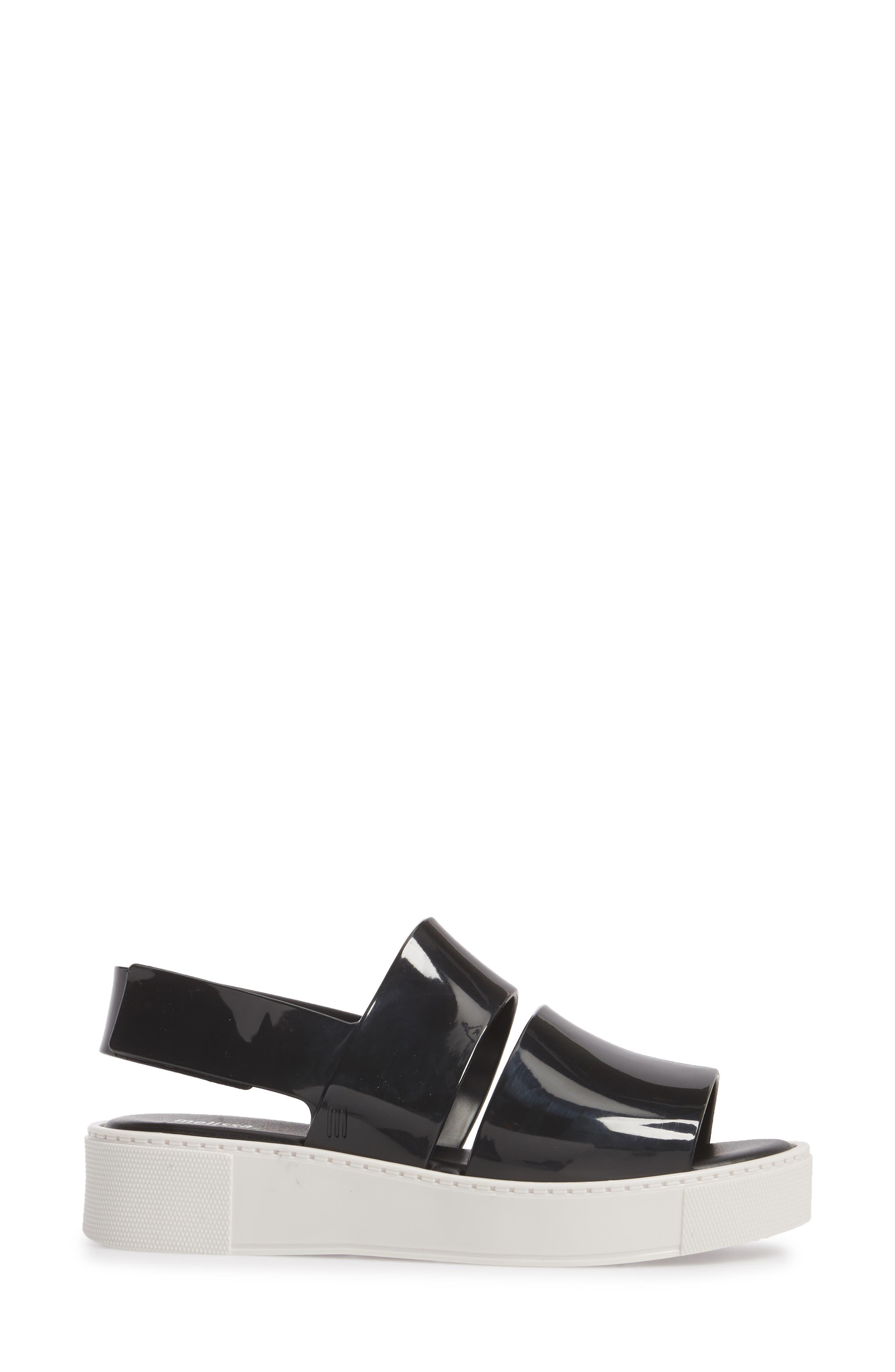 Soho Platform Sandal,                             Alternate thumbnail 3, color,                             001