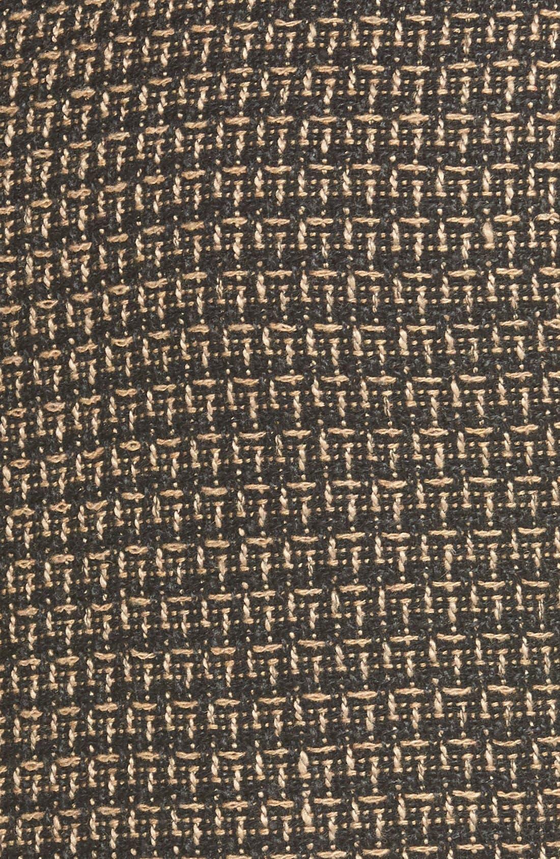 Tweed FauxWrap Pencil Skirt,                             Alternate thumbnail 3, color,                             200