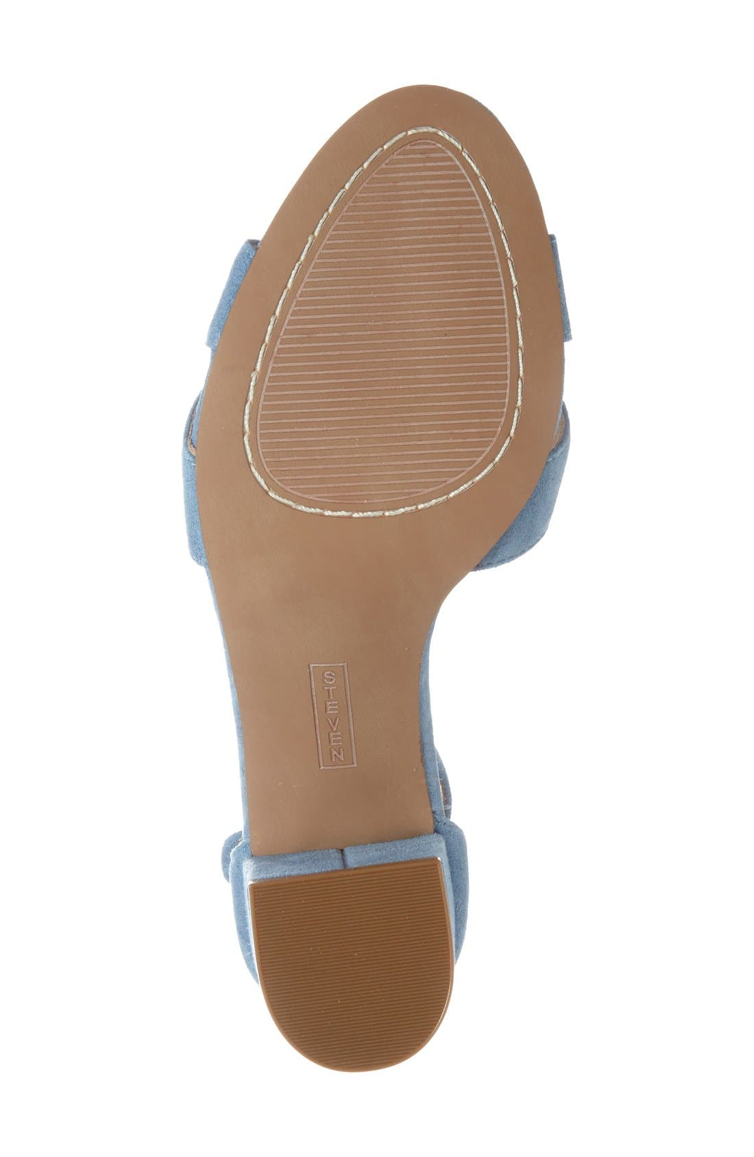 'Voomme' Ankle Strap Sandal,                             Alternate thumbnail 7, color,