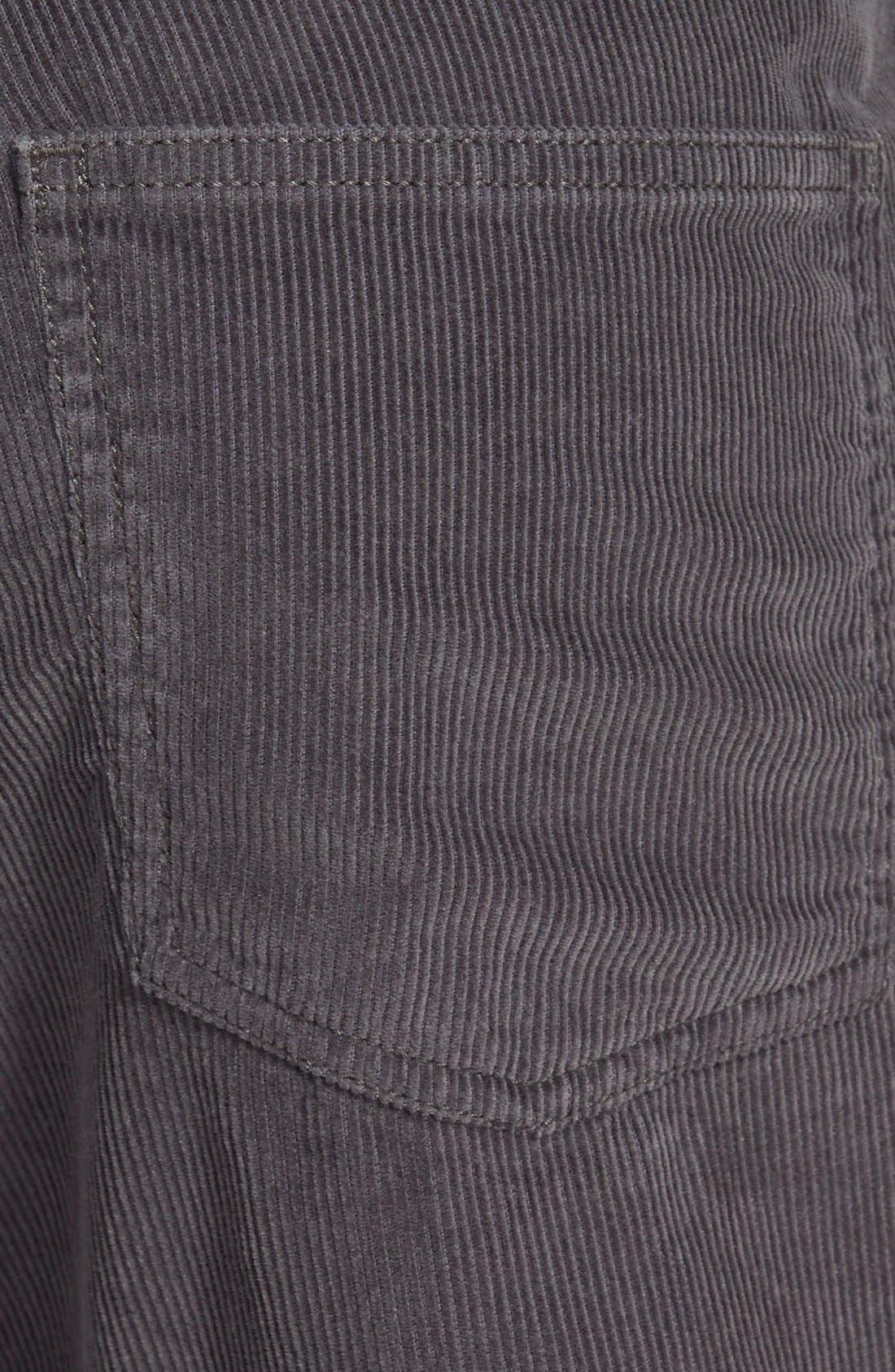 Straight Leg Corduroy Pants,                             Alternate thumbnail 2, color,                             021